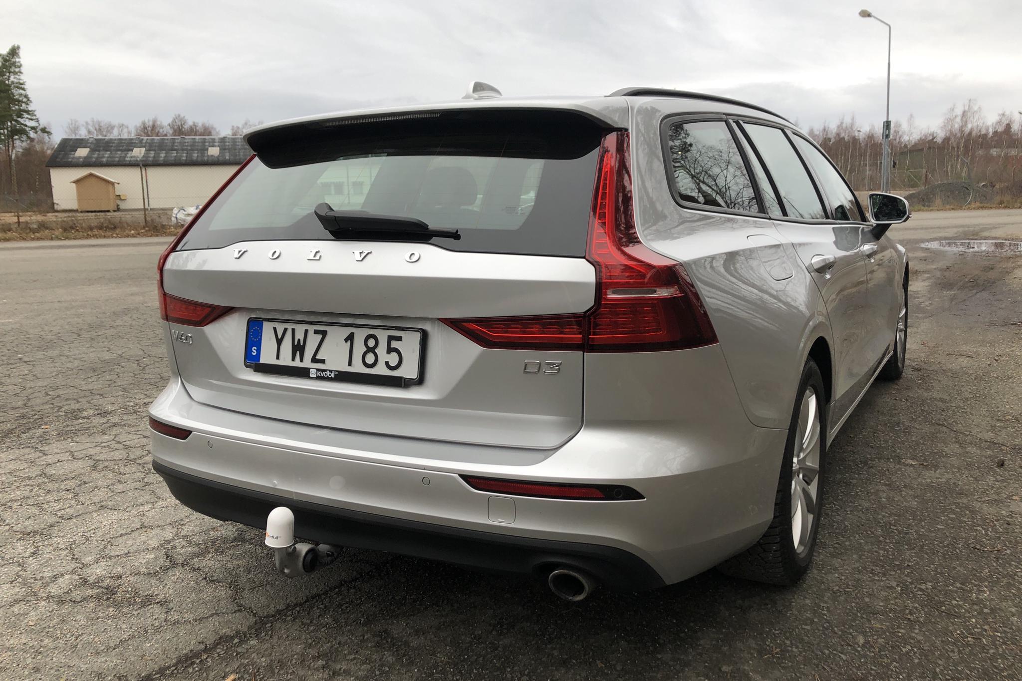 Volvo V60 D3 (150hk) - 57 820 km - Manual - silver - 2019