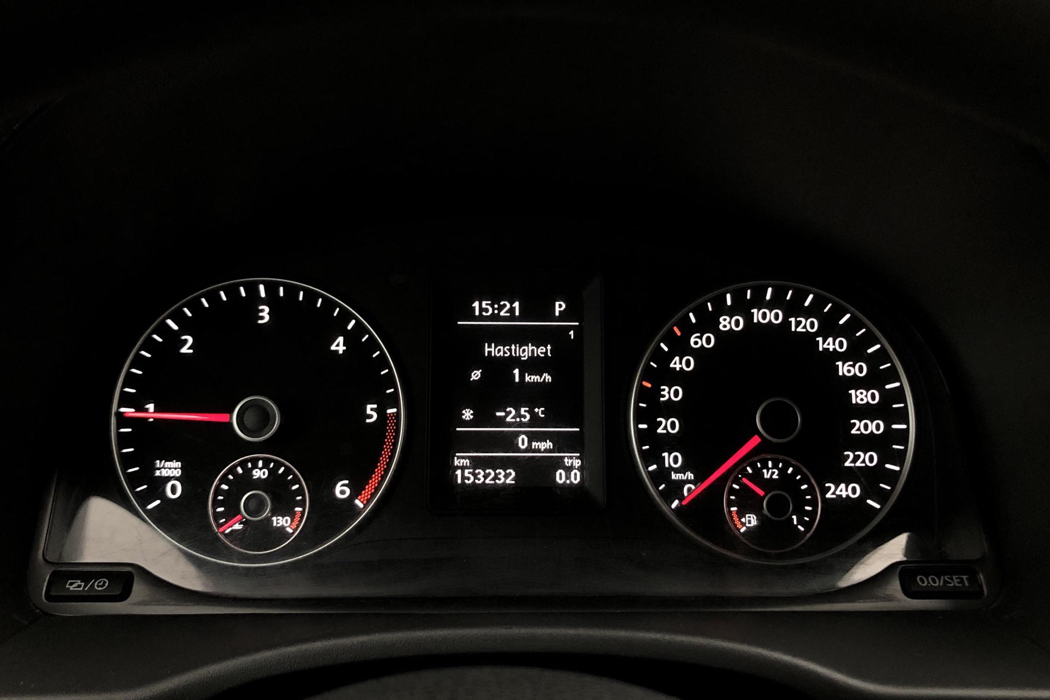 VW Caddy MPV Maxi 1.6 TDI (102hk) - 15 323 mil - Automat - vit - 2015