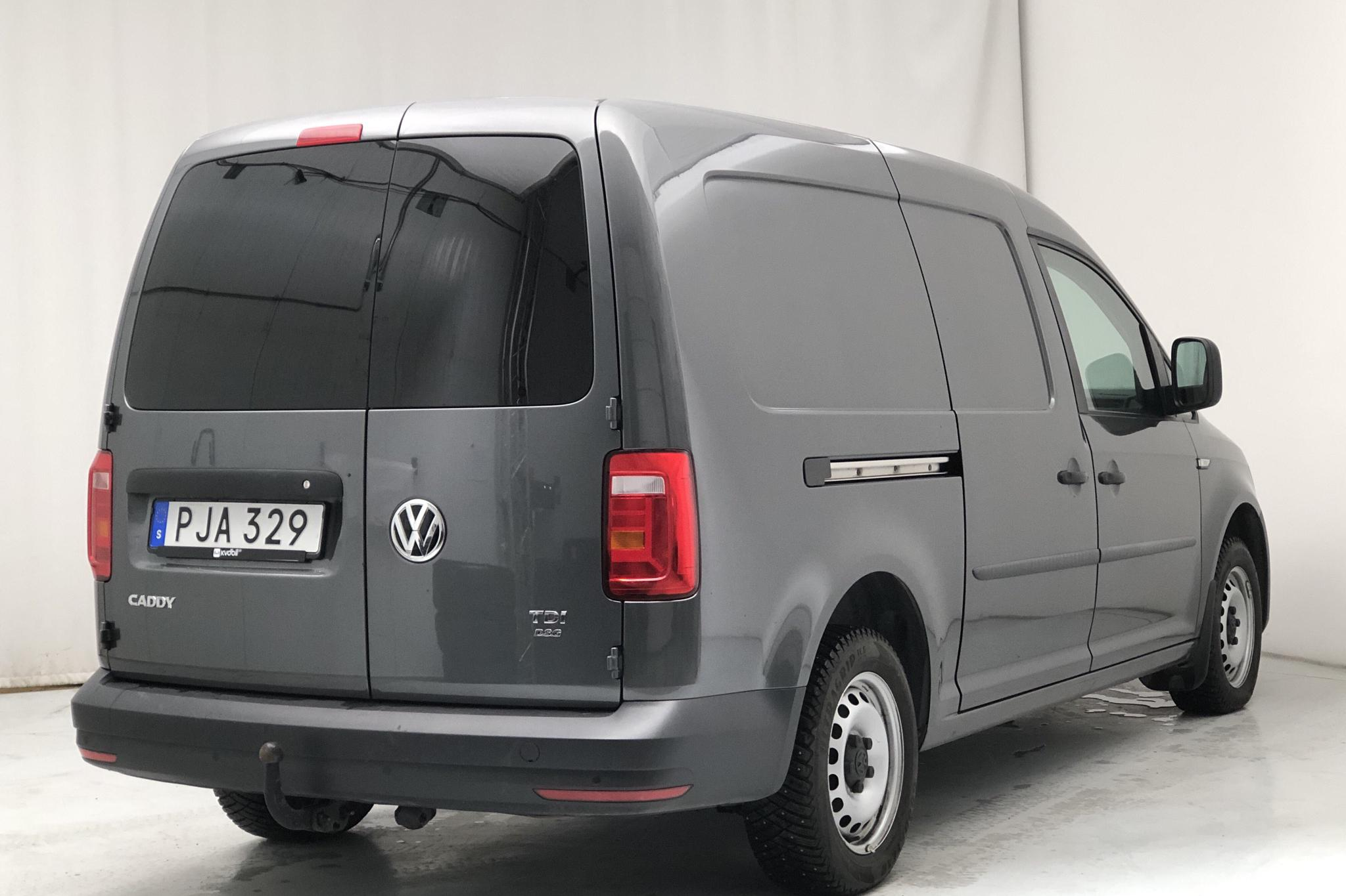 VW Caddy 2.0 TDI Maxi Skåp (102hk) - 5 621 mil - Automat - Light Grey - 2017