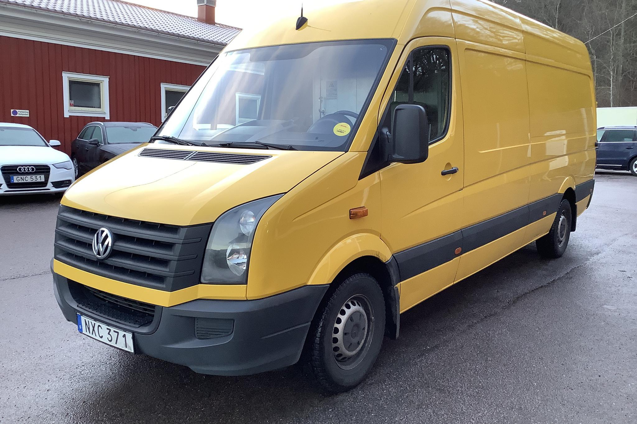 VW Crafter 35 2.0 TDI Skåp (136hk) - 14 605 mil - Manuell - Light Yellow - 2016