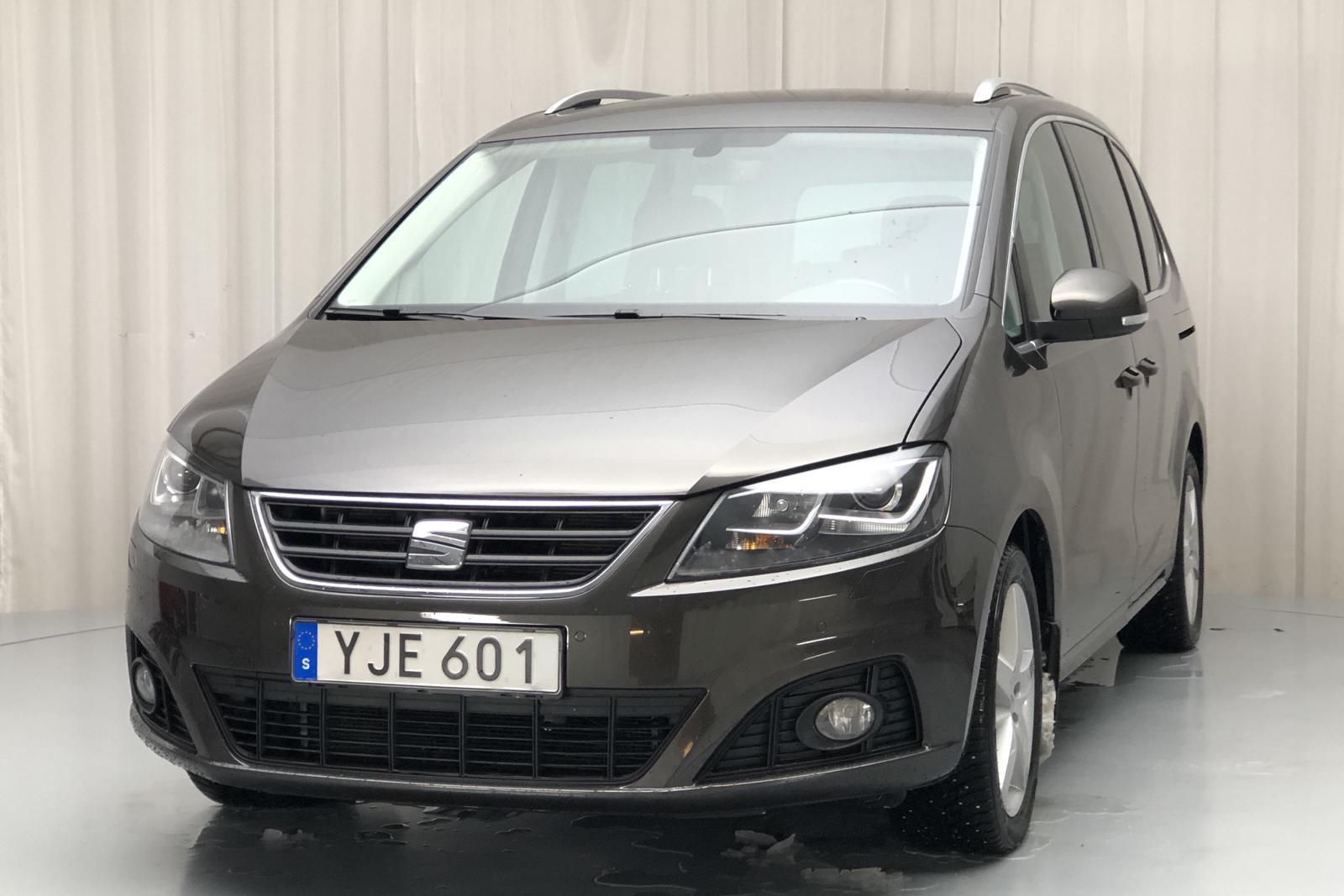 Seat Alhambra 2.0 TDI 4WD (184hk) - 7 681 mil - Automat - Dark Brown - 2017