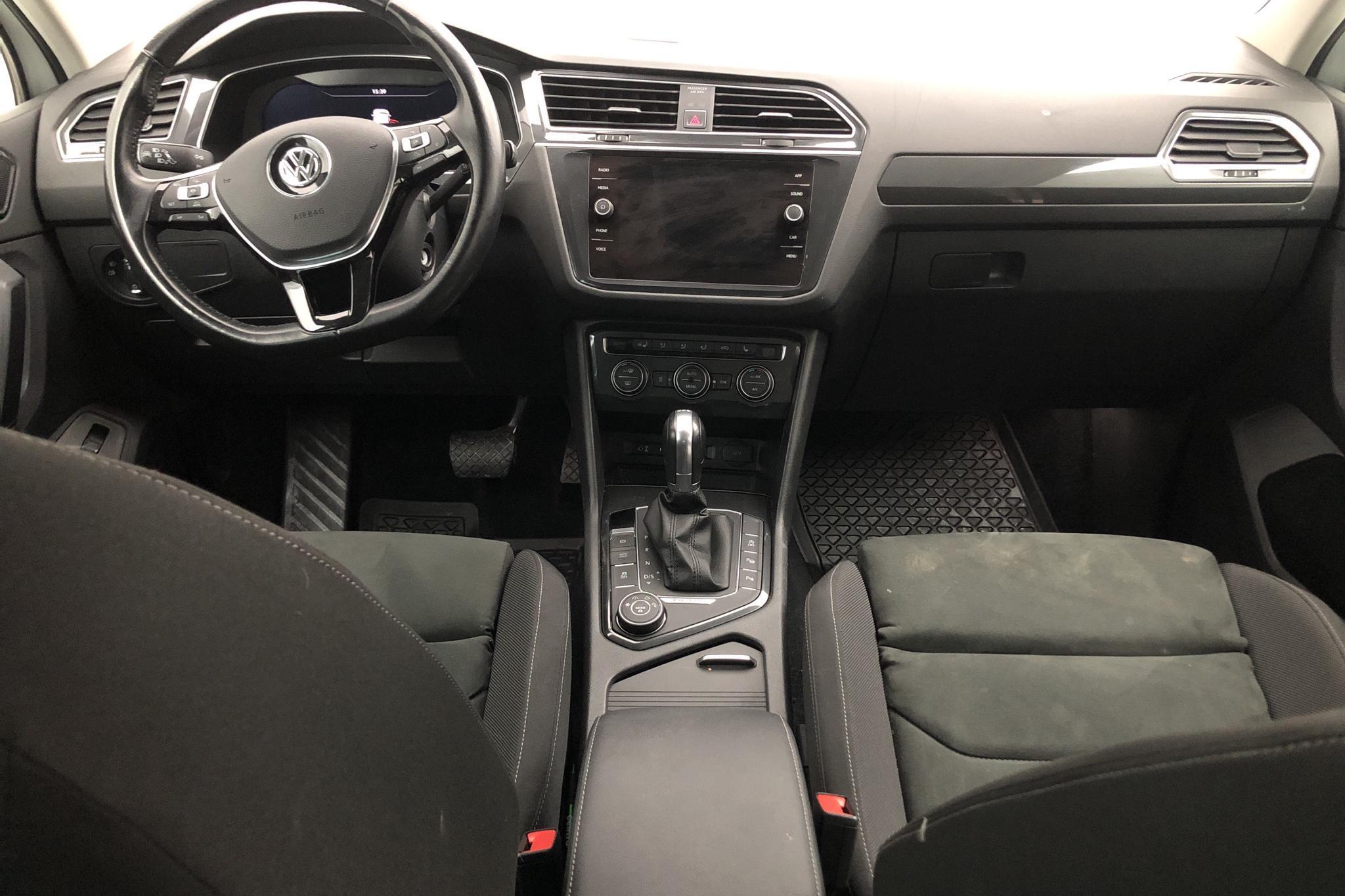 VW Tiguan 2.0 TDI 4MOTION (190hk) - 89 470 km - Automatic - white - 2018