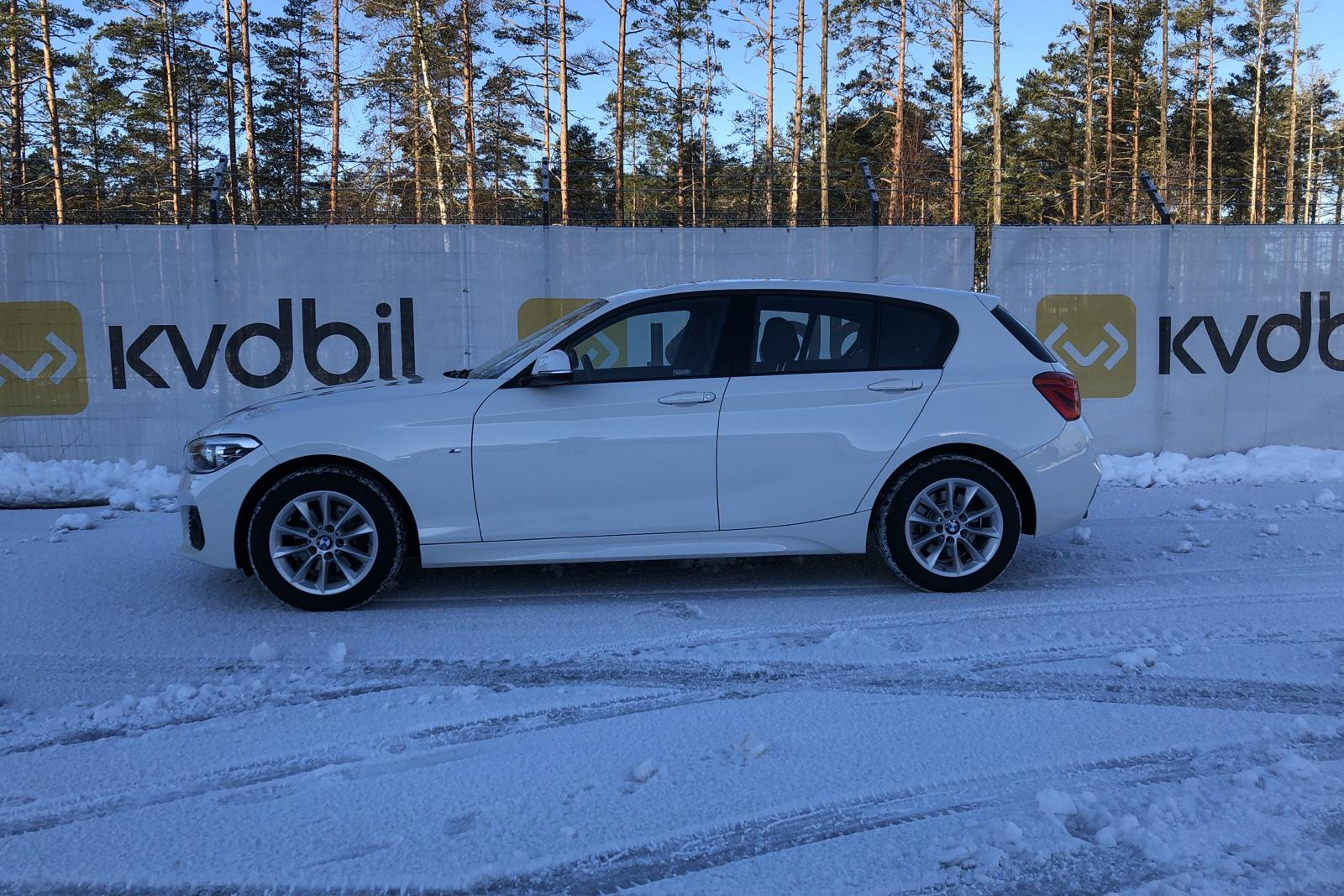 BMW 120d xDrive 5dr, F20 (190hk) - 29 620 km - Automatic - white - 2019