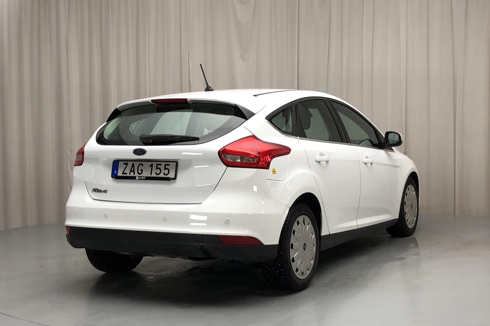 Ford Focus 1.5 TDCi ECOnetic 5dr (105hk) - 25 030 km - Manual - white - 2018