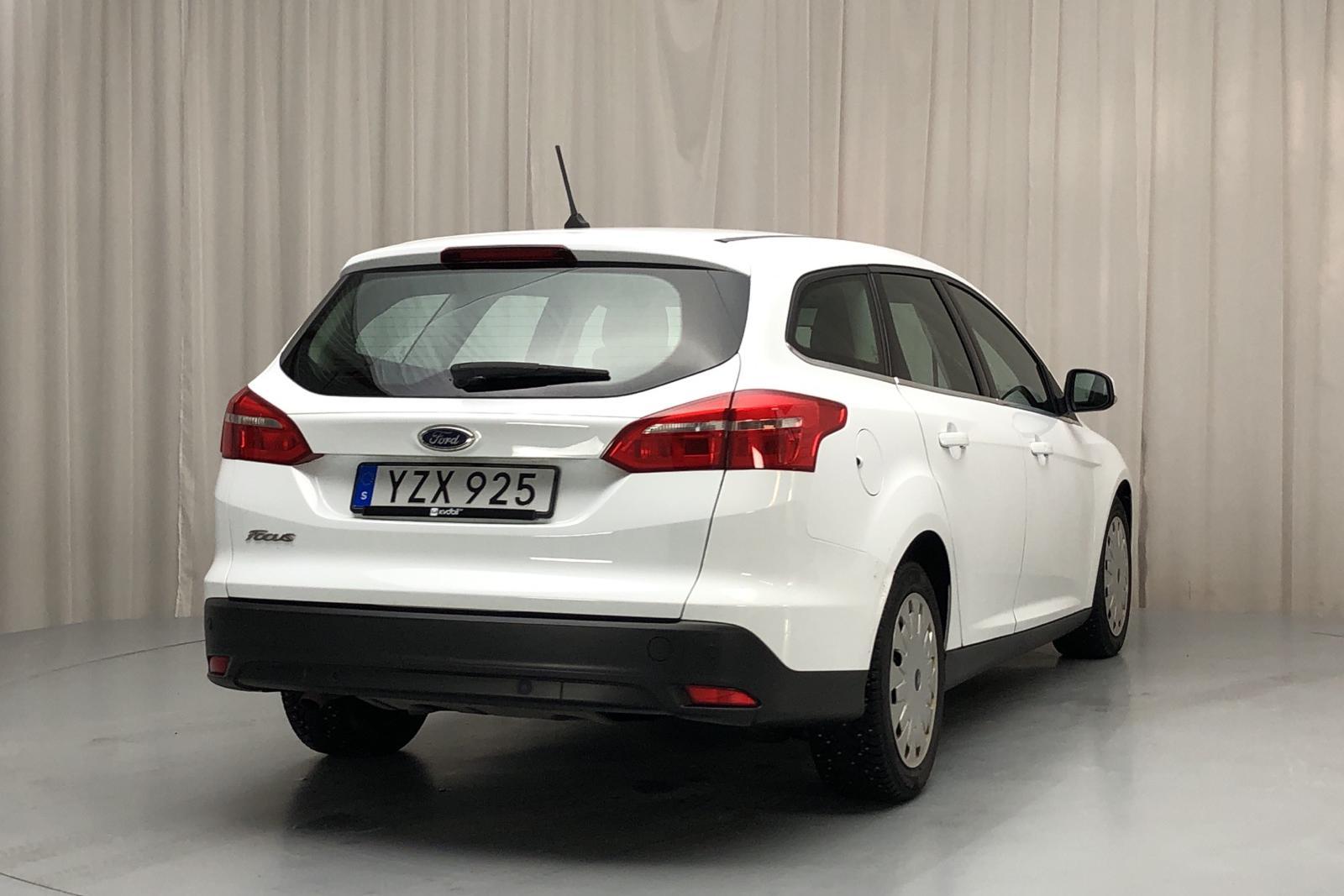 Ford Focus 1.5 TDCi ECOnetic Kombi (105hk) - 80 100 km - Manual - white - 2018