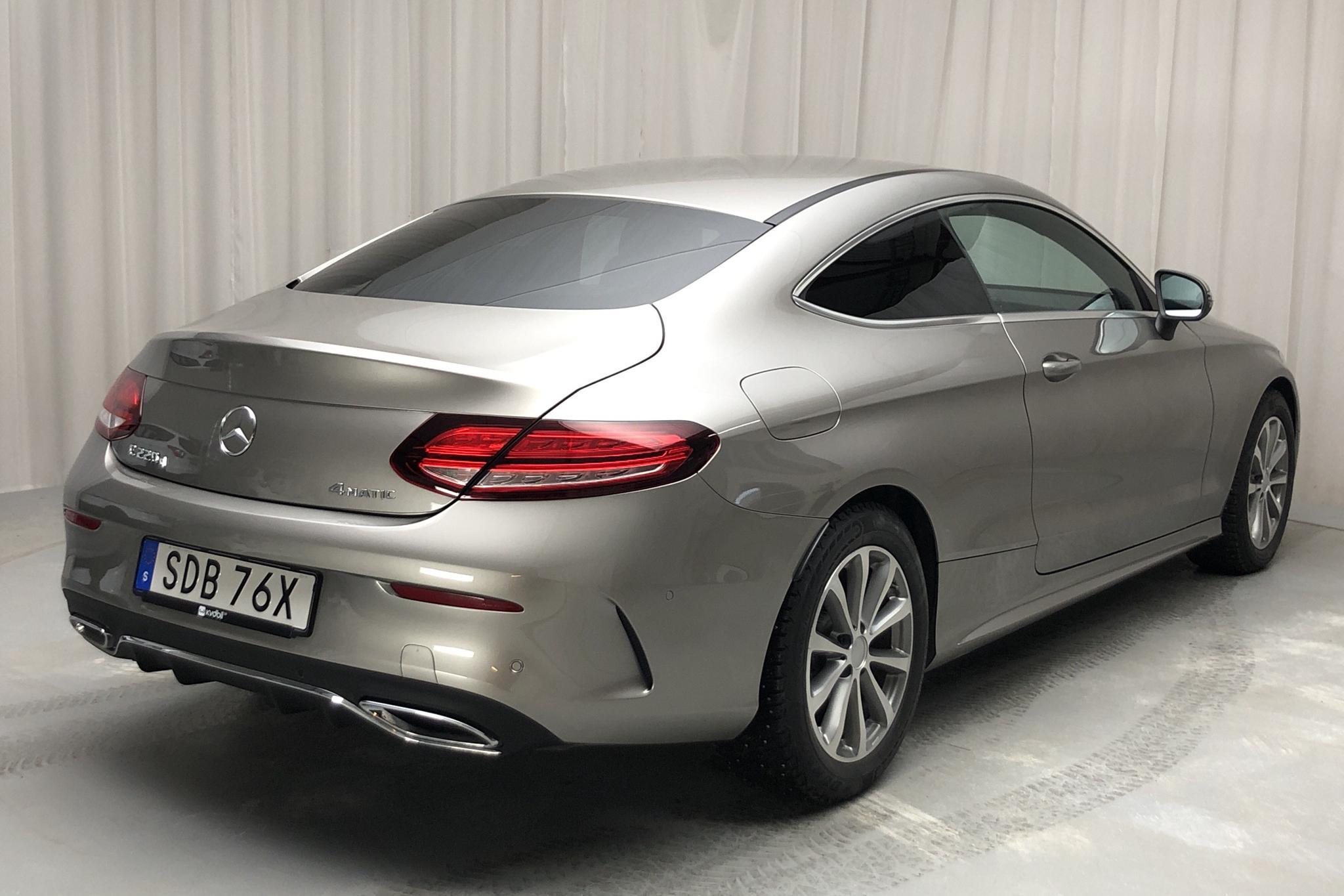 Mercedes C 220 d 4MATIC Coupé C205 (194hk) - 359 mil - Automat - silver - 2020