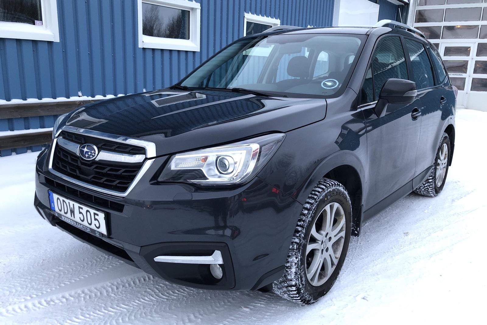 Subaru Forester 2.0D (147hk) - 89 190 km - Automatic - Dark Grey - 2016