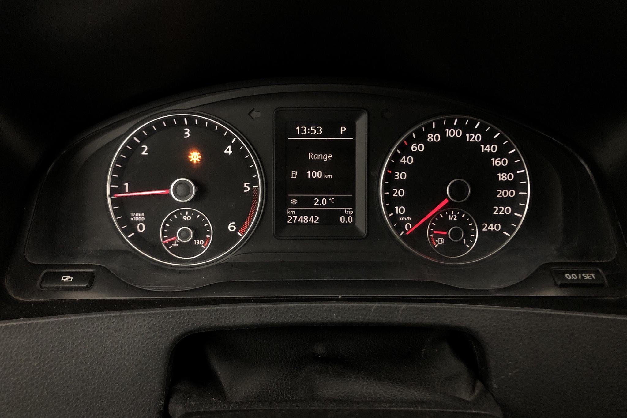 VW Transporter Kombi T5 2.0 TDI 4MOTION (180hk) - 274 840 km - Automatic - Light Green - 2010