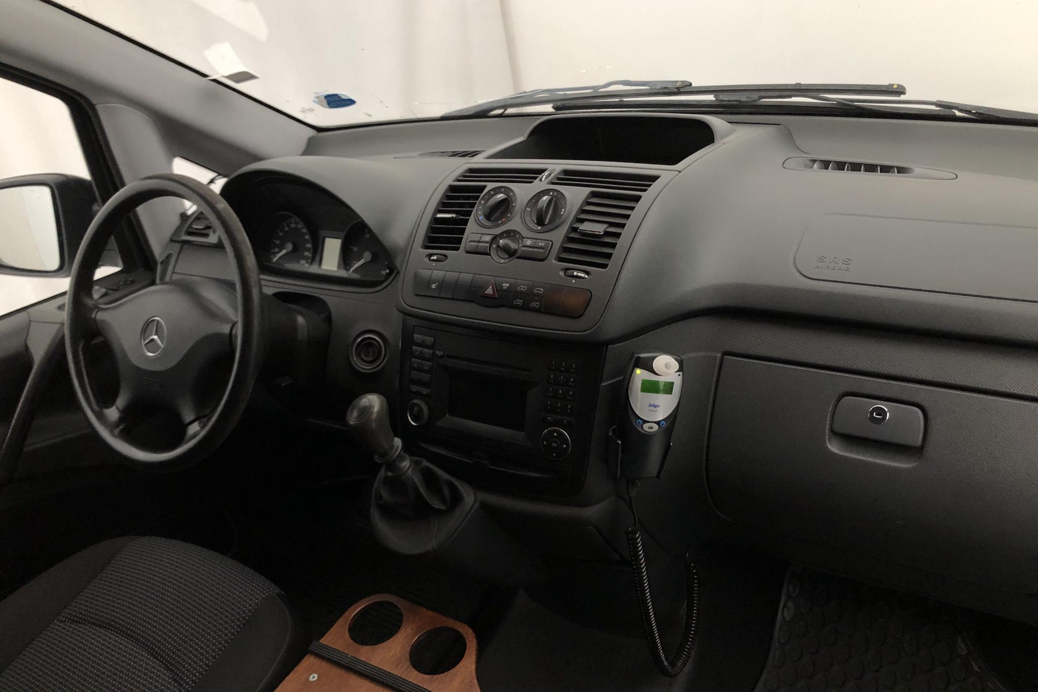 Mercedes Vito 113 CDI W639 (136hk) - 13 164 mil - Manuell - vit - 2011