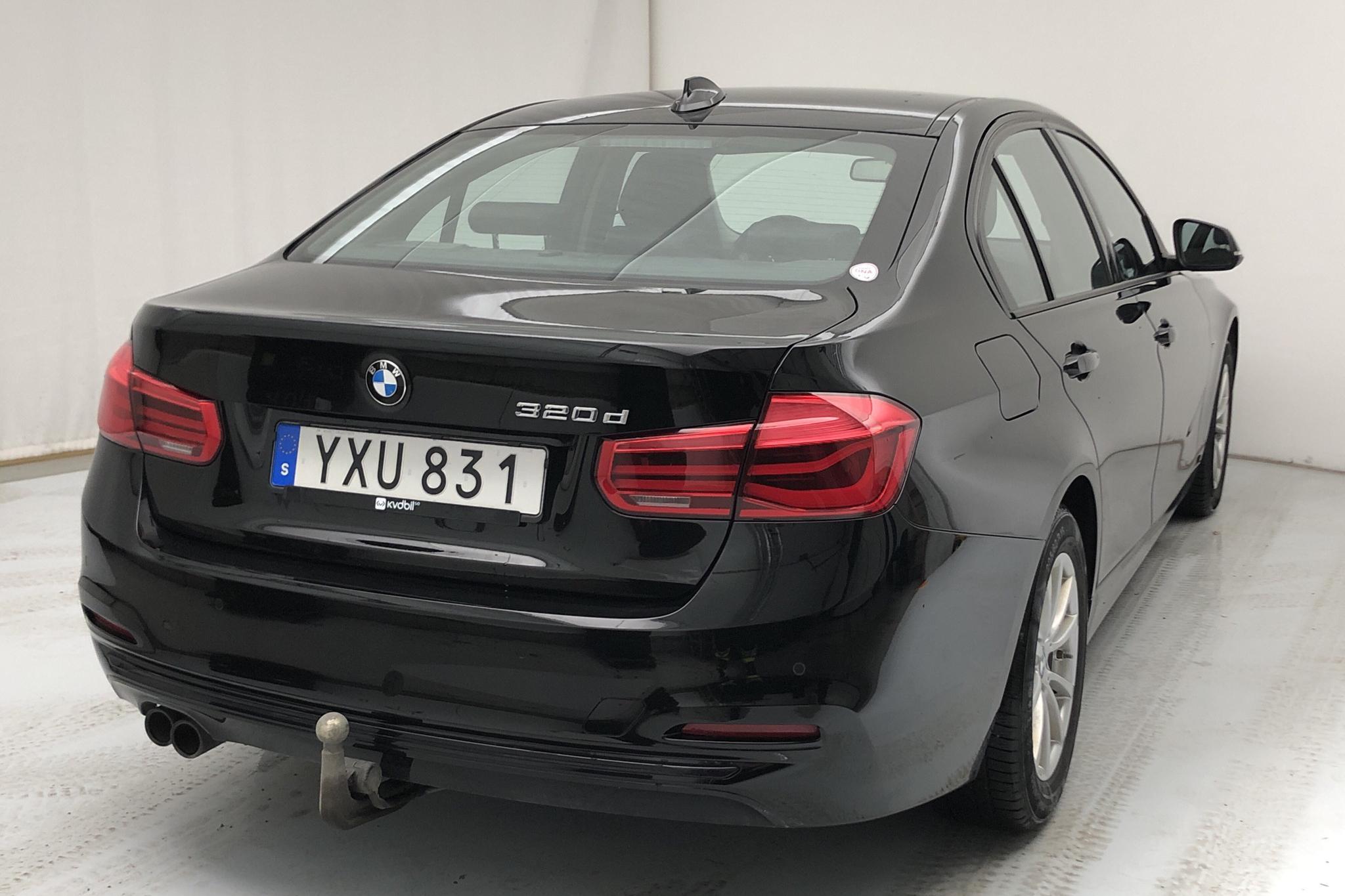 BMW 320d Sedan, F30 (190hk) - 10 138 mil - Automat - svart - 2018