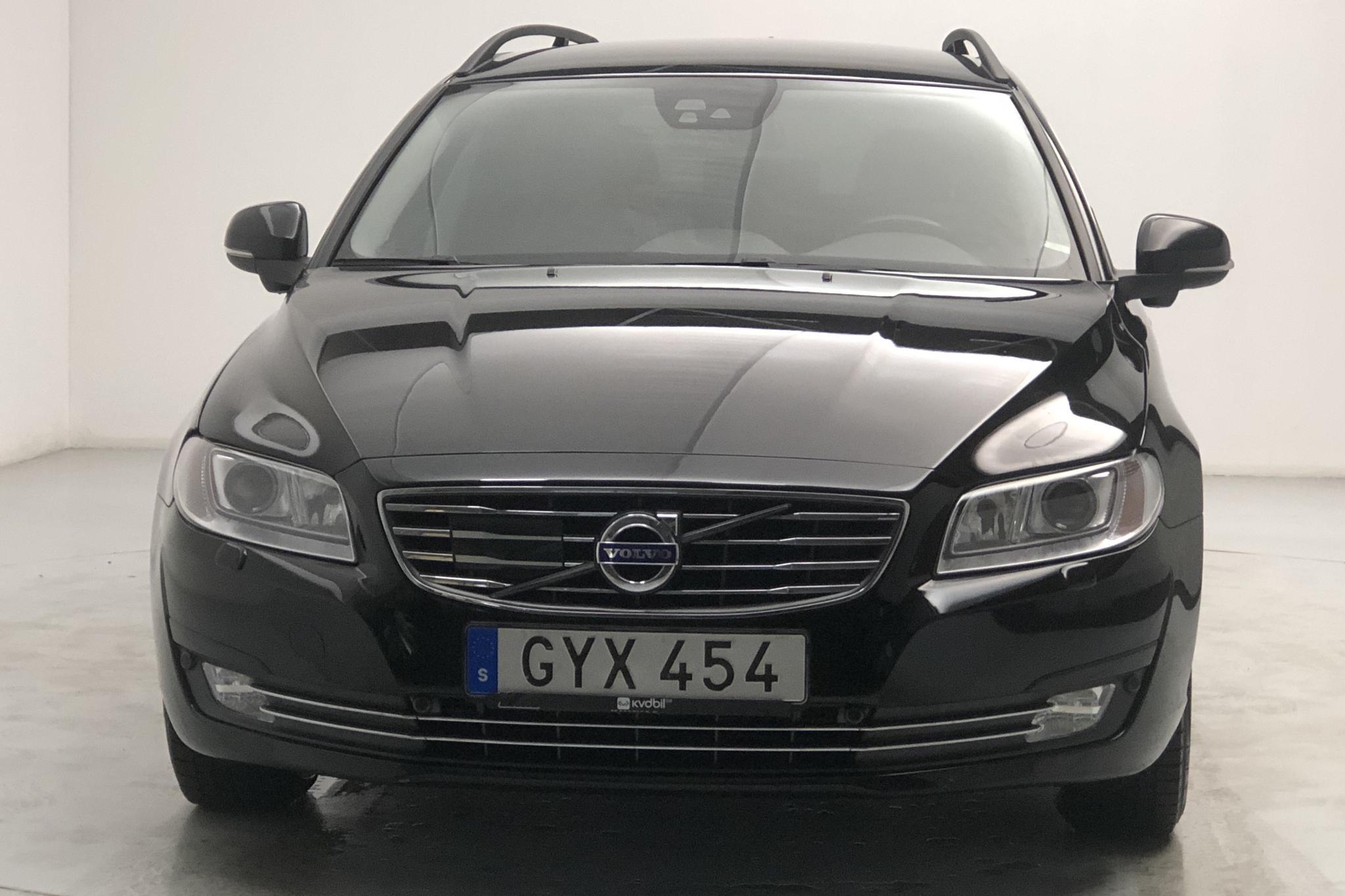 Volvo V70 II D4 AWD (181hk) - 84 240 km - Automatic - black - 2016