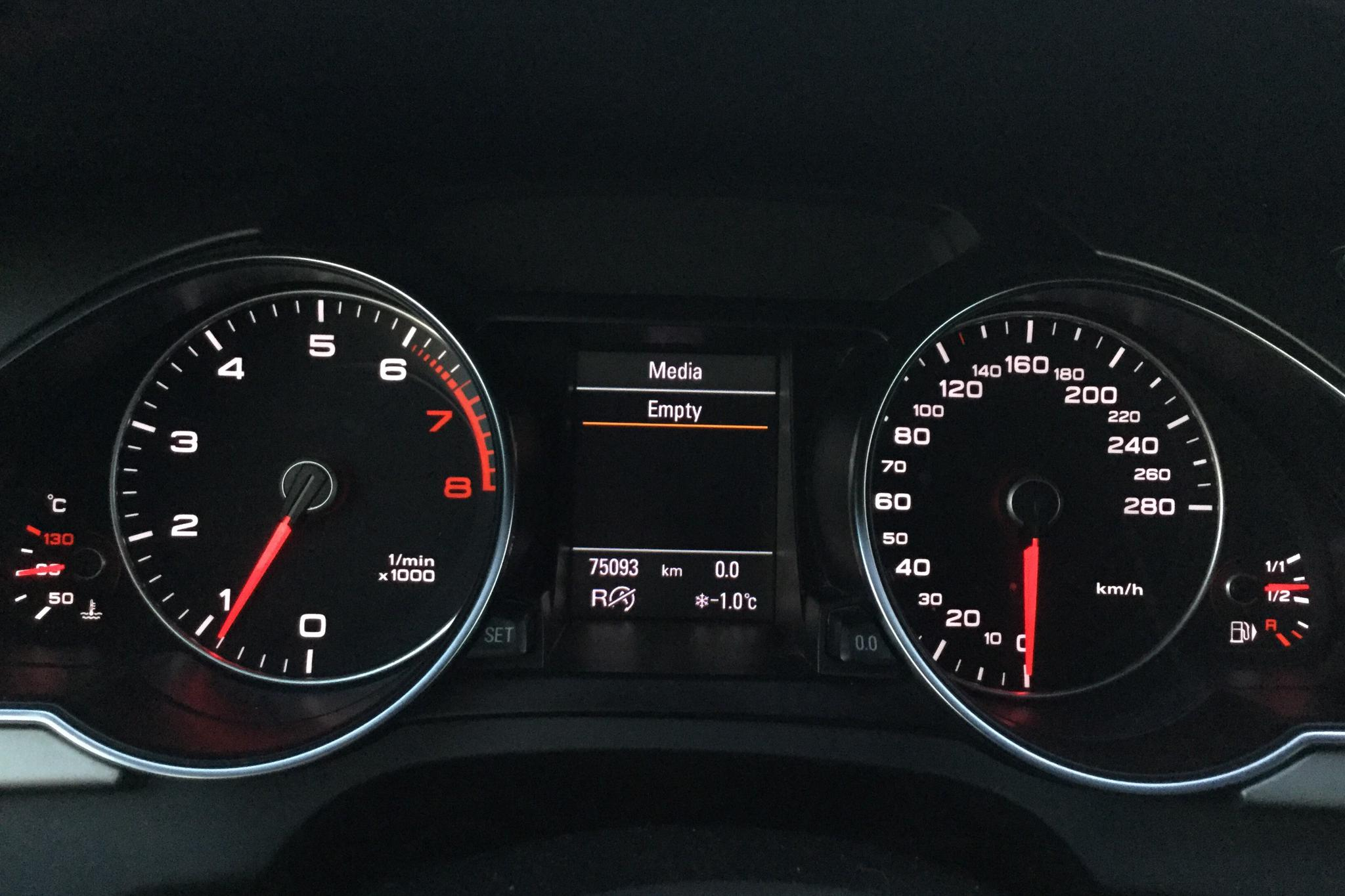 Audi A5 2.0 TFSI Cabriolet quattro (211hk) - 7 509 mil - Automat - röd - 2012