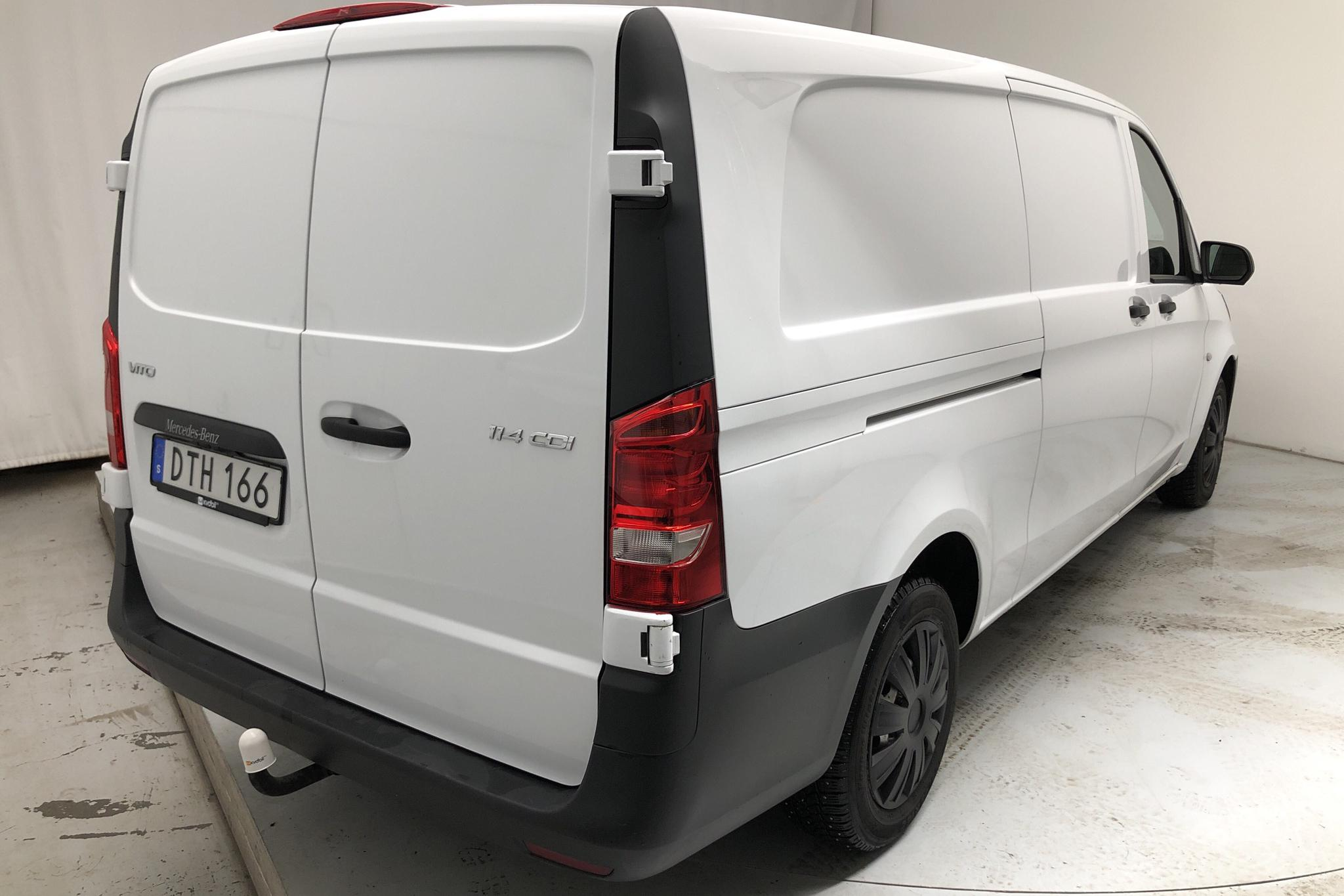 Mercedes Vito 114 CDI W640 (136hk) - 8 010 mil - Automat - vit - 2017
