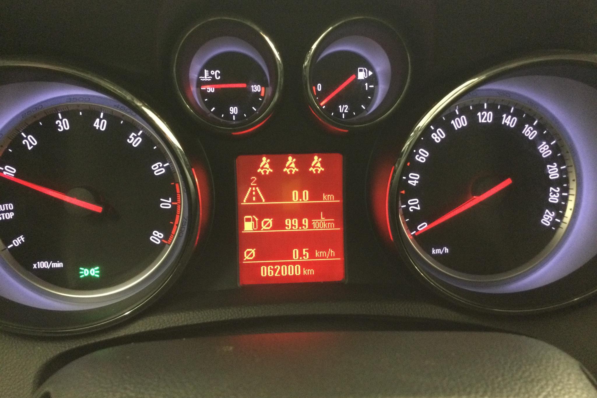 Opel Mokka 1.4 Turbo ECOTEC 4x4 (140hk) - 6 200 mil - Manuell - grå - 2016
