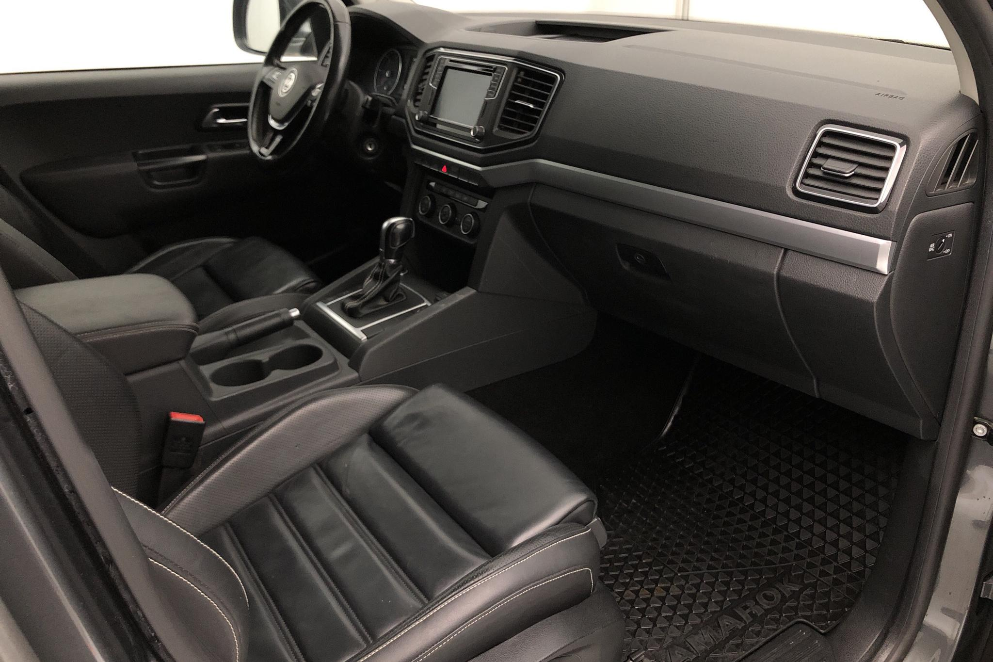 VW Amarok 3.0 TDI 4motion (224hk) - 80 680 km - Automatic - gray - 2017