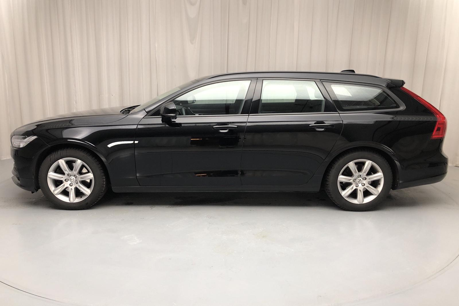 Volvo V90 D3 (150hk) - 62 140 km - Manual - black - 2017