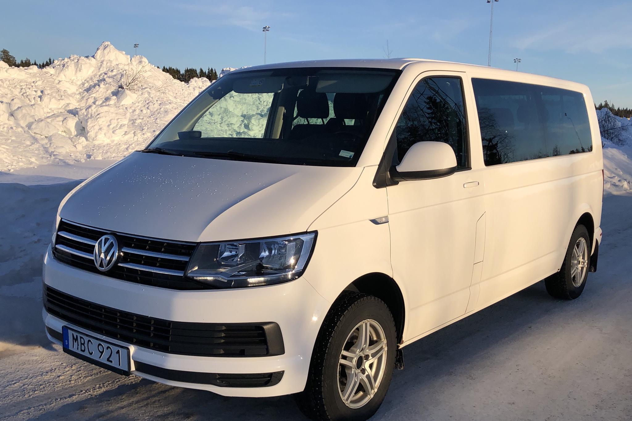 VW Caravelle T6 2.0 TDI BMT Skåp (150hk) - 16 068 mil - Manuell - vit - 2016