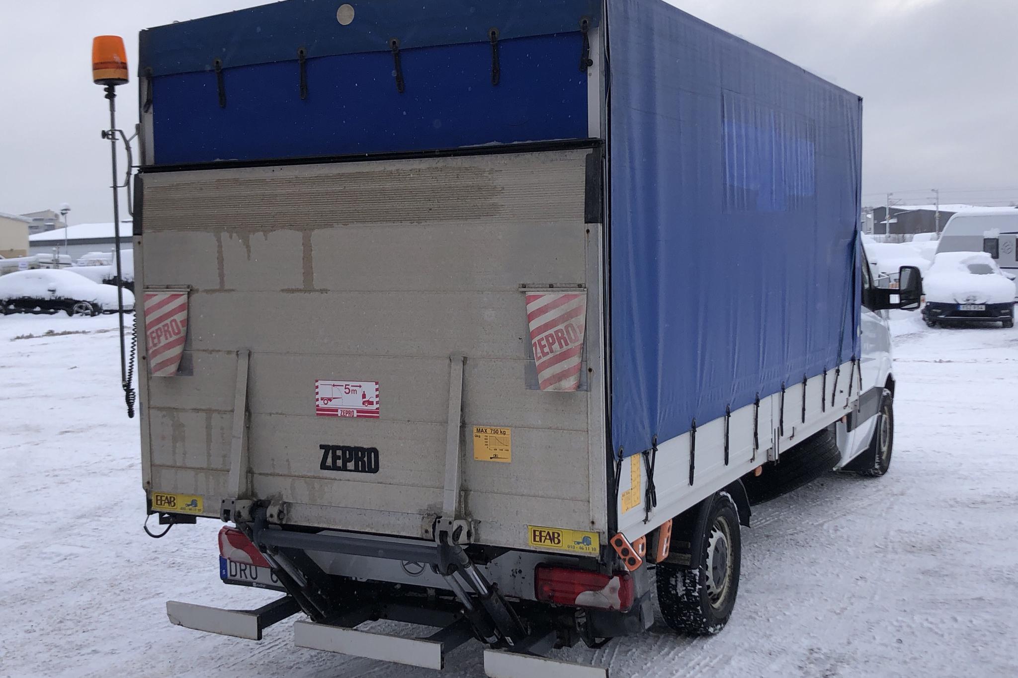 Mercedes Sprinter 316 CDI Pickup/Chassi (163hk) - 8 924 mil - Automat - 2011