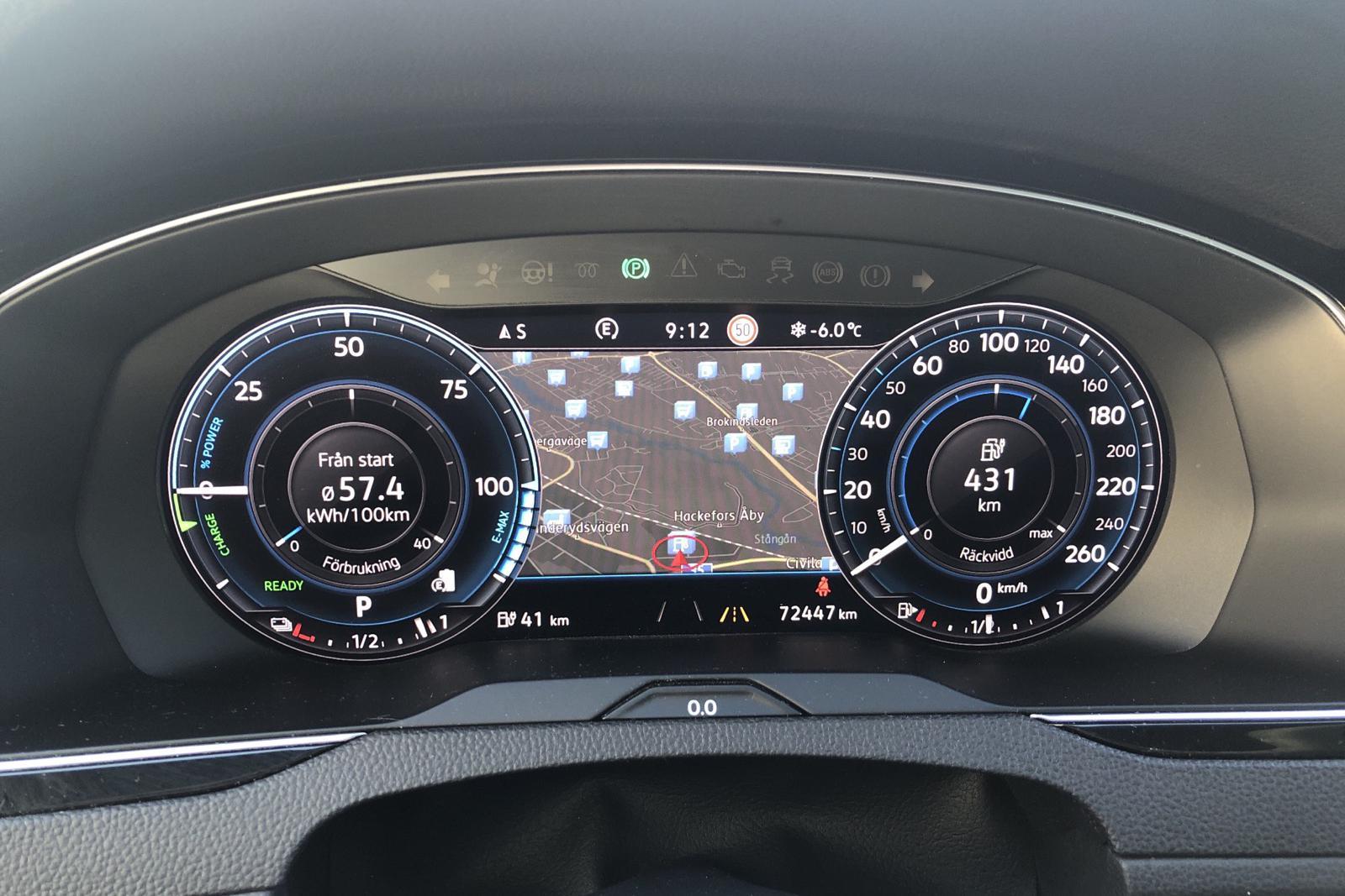 VW Passat 1.4 Plug-in-Hybrid Sportscombi (218hk) - 7 244 mil - Automat - silver - 2018