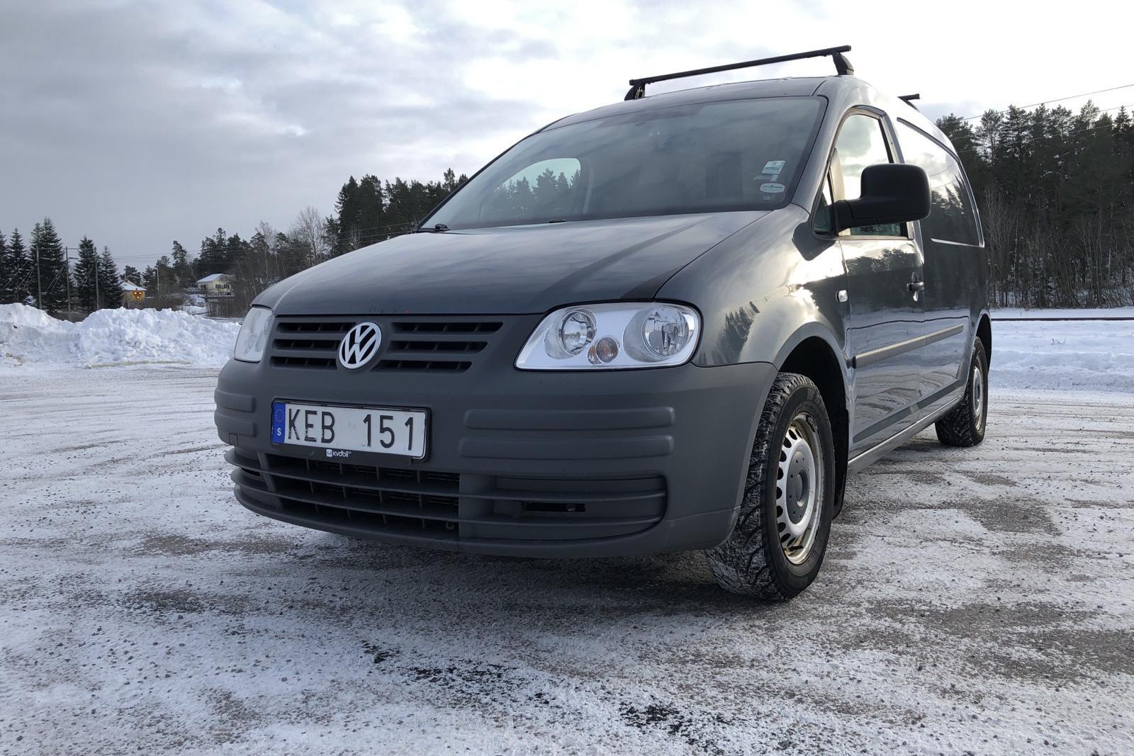 VW Caddy 1.9 TDI Maxi Skåp (105hk) - 178 430 km - Manual - Dark Grey - 2010
