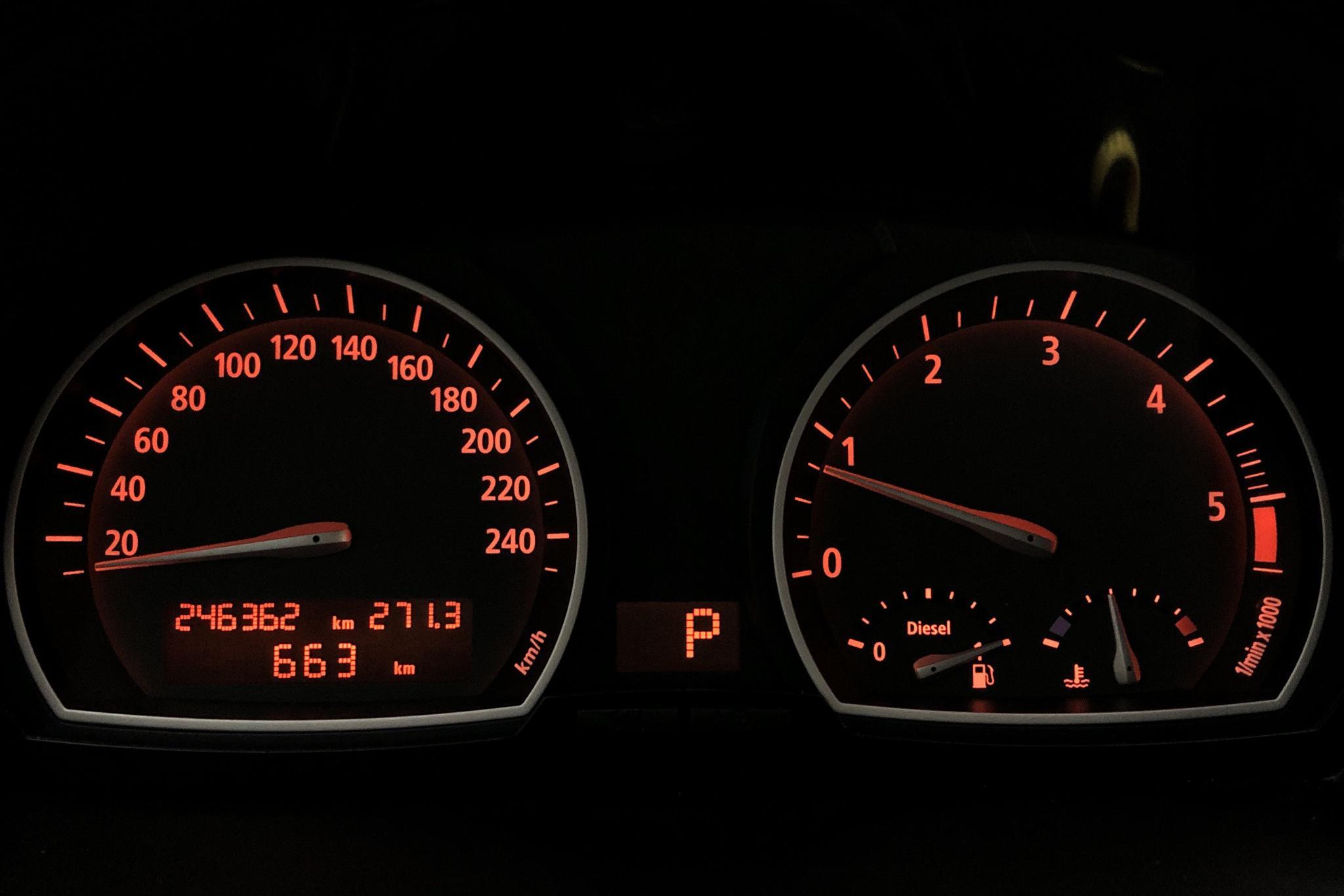 BMW X3 2.0d, E83 (177hk) - 246 360 km - Automatic - gray - 2009