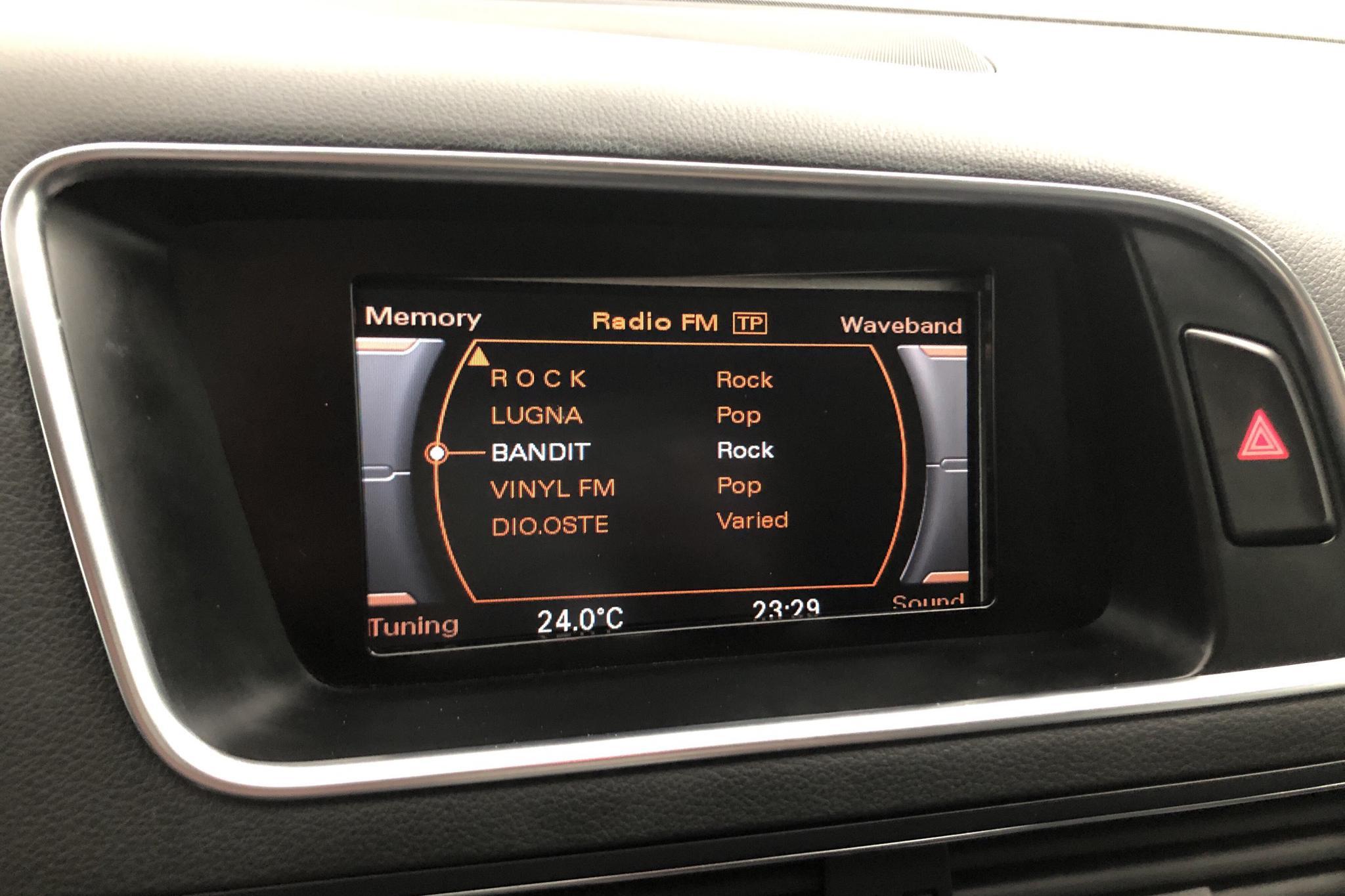 Audi Q5 2.0 TDI quattro (170hk) - 156 610 km - Automatic - black - 2009