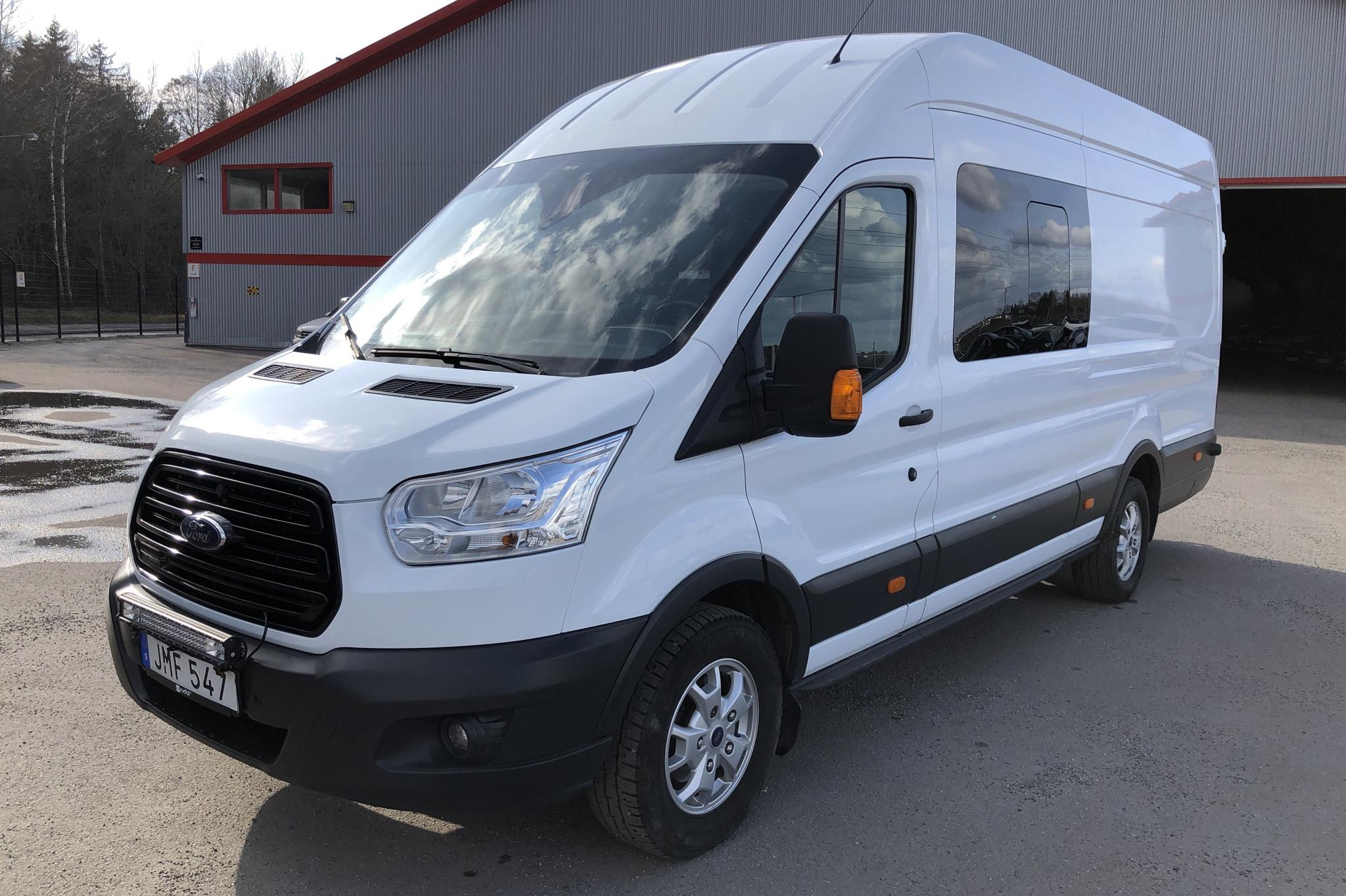 Ford Transit Chassi 350 2.0 TDCi RWD (170hk) - 109 200 km - Manual - white - 2017
