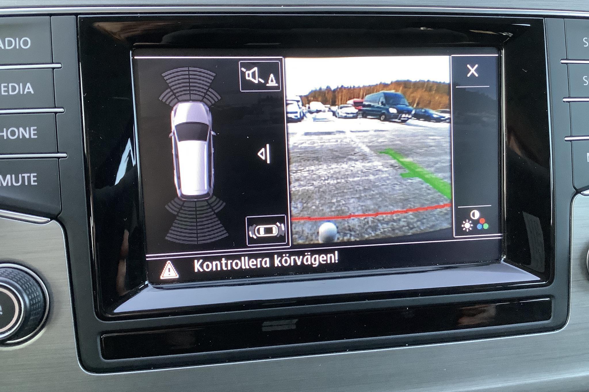 VW Golf VII 1.4 TSI Sportscombi (122hk) - 122 910 km - Manual - black - 2014
