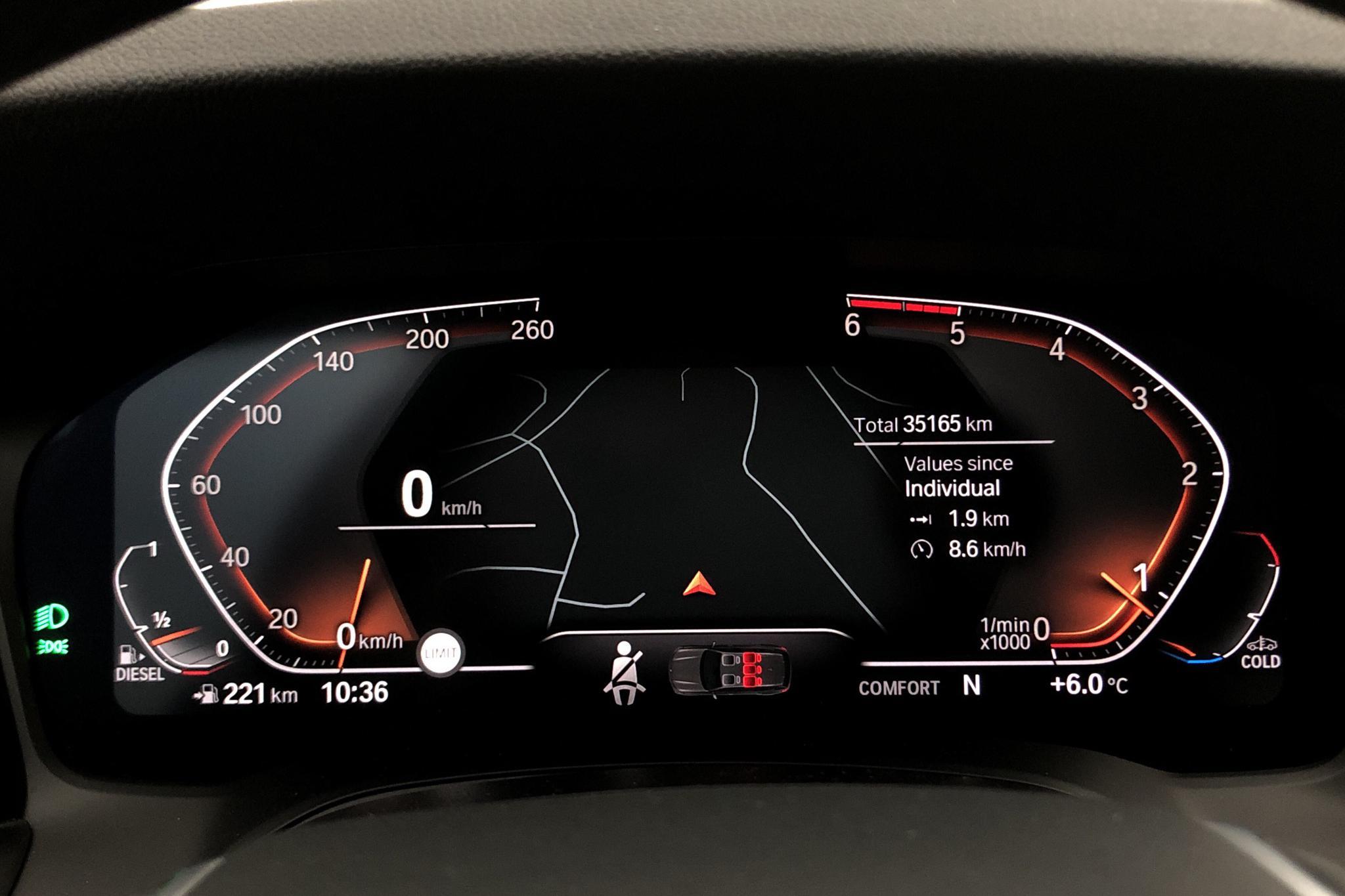 BMW 320d Touring, G21 (190hk) - 3 516 mil - Manuell - vit - 2020