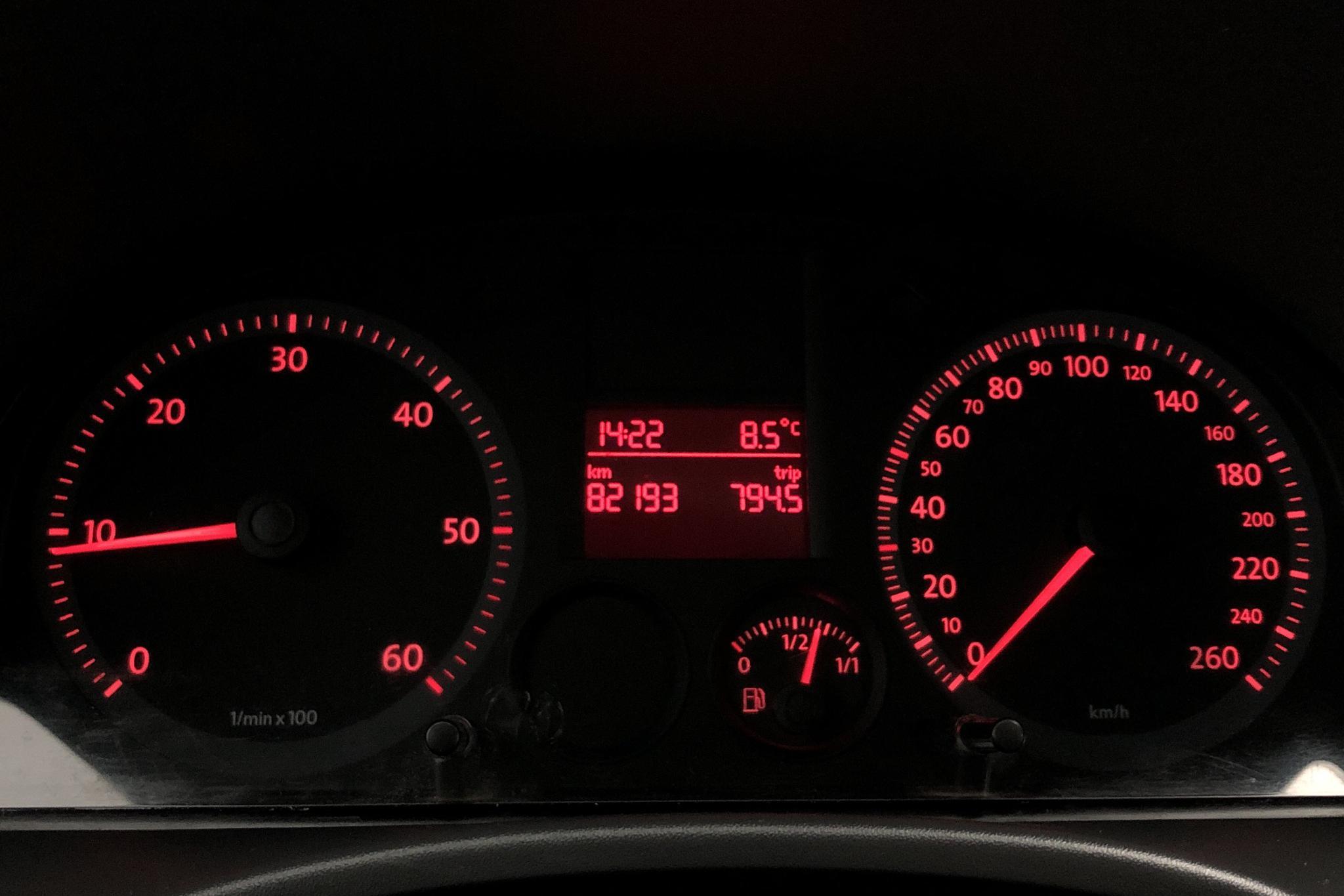 VW Caddy 2.0 SDI Skåp (70hk) - 82 190 km - Manual - white - 2009