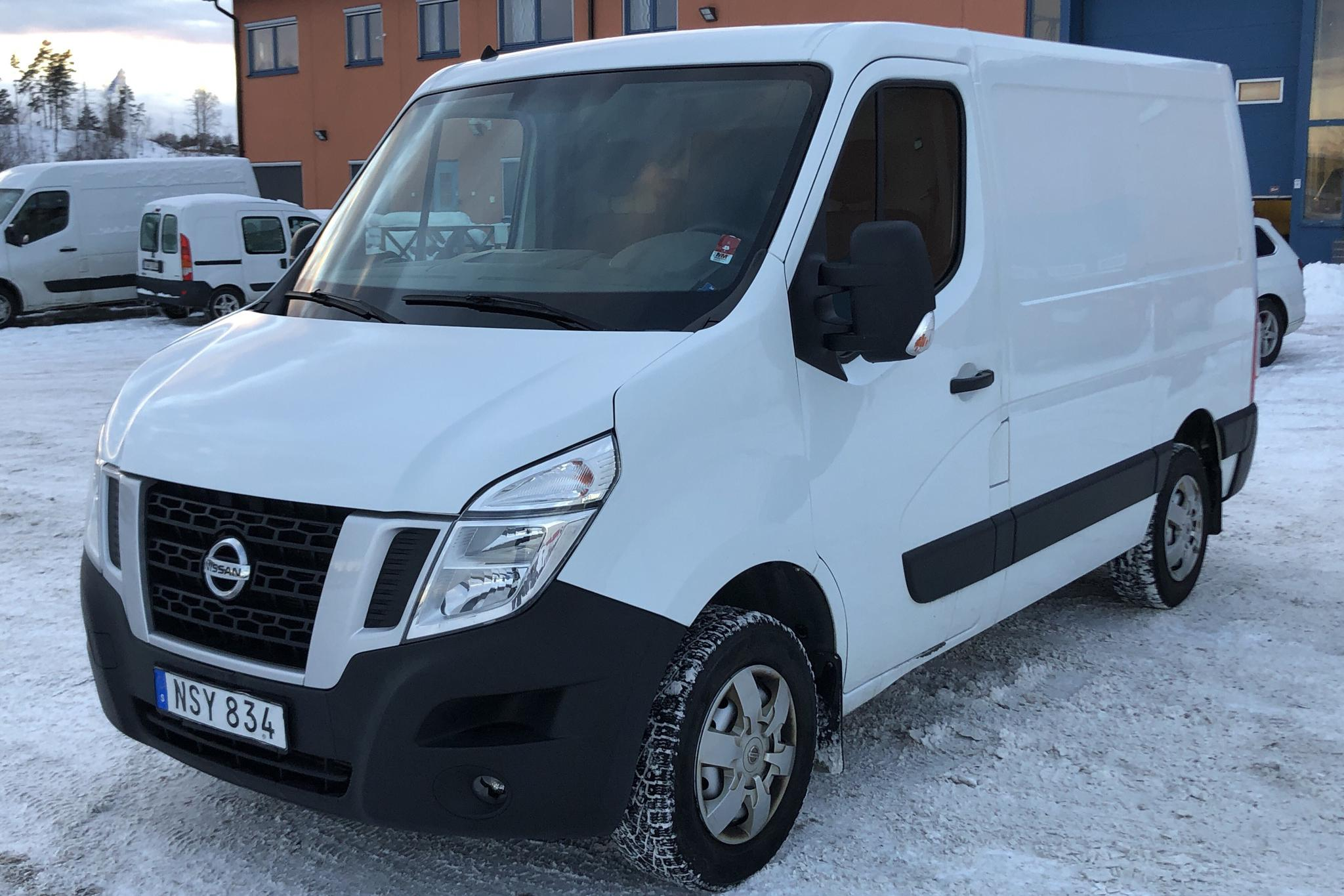 Nissan NV400 2.3 dCi Skåp (125hk) - 106 970 km - Manual - white - 2015