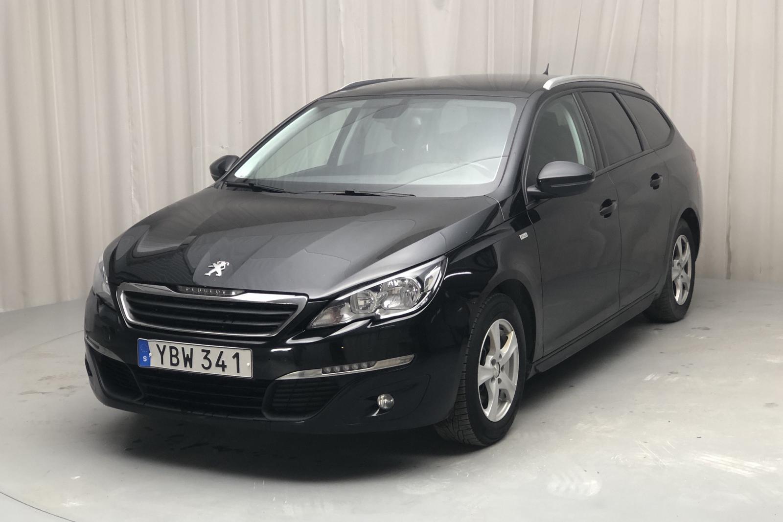 Peugeot 308 SW PureTech (130hk) - 147 470 km - Manual - black - 2016