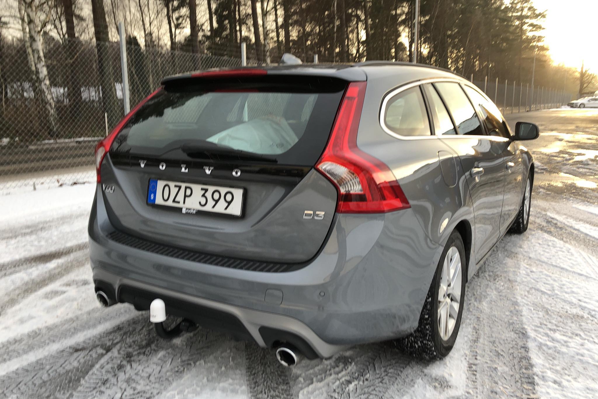 Volvo V60 D3 (150hk) - 72 320 km - Manual - gray - 2016