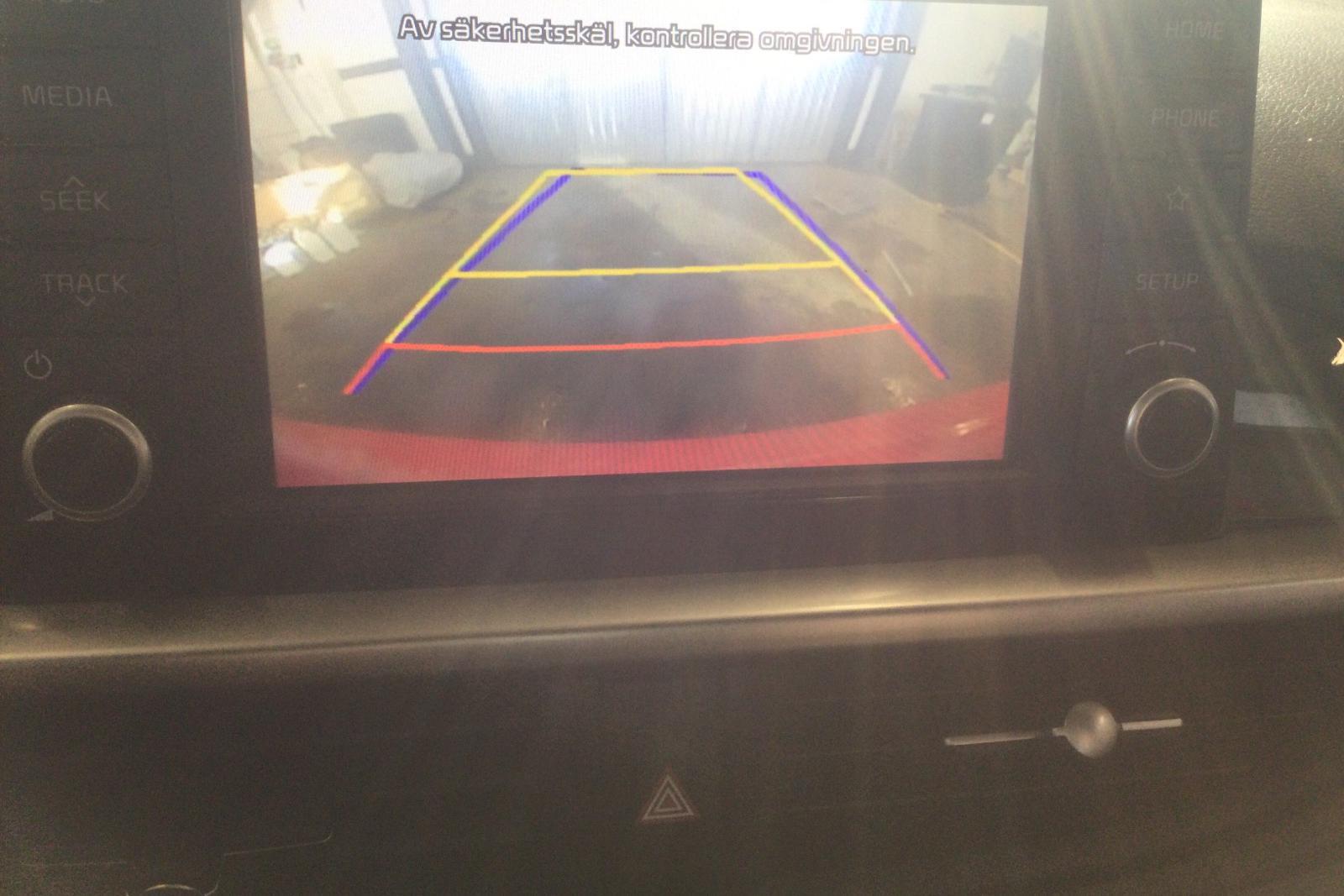KIA Picanto 1.0 5dr (67hk) - 73 750 km - Manual - red - 2018
