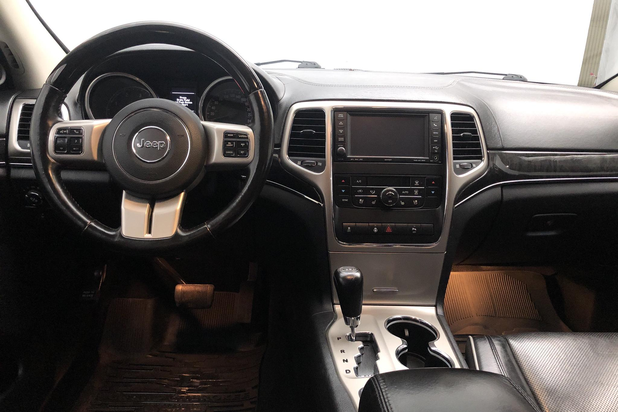 Jeep Grand Cherokee 3.0 CRD V6 (241hk) - 166 990 km - Automatic - Dark Grey - 2012