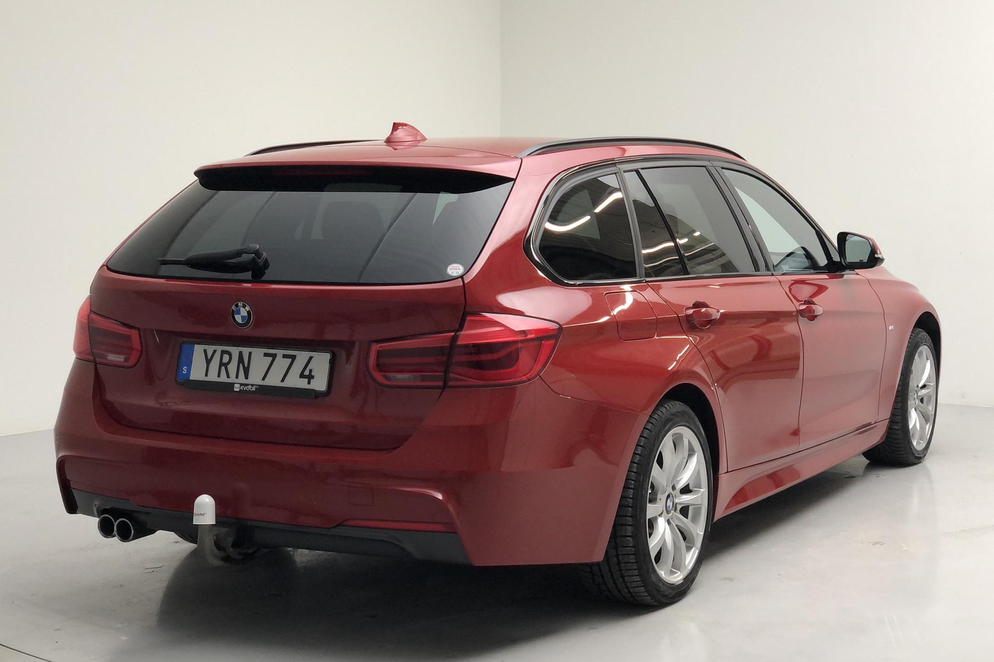 BMW 320d xDrive Touring, F31 (190hk) - 35 180 km - Automatic - red - 2019