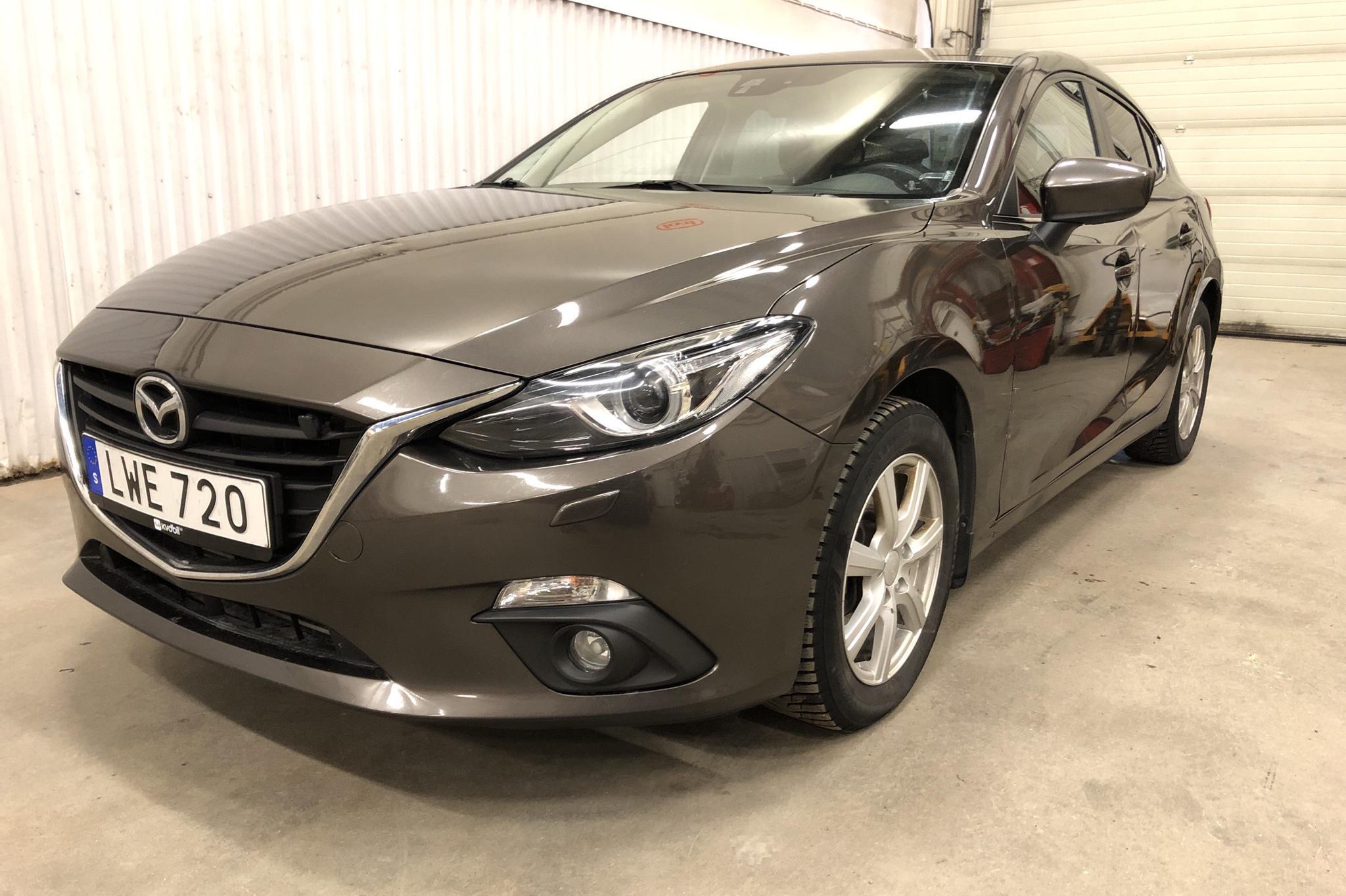 Mazda 3 Sport 2.2 DE 5dr (150hk) - 159 660 km - Manual - brown - 2015