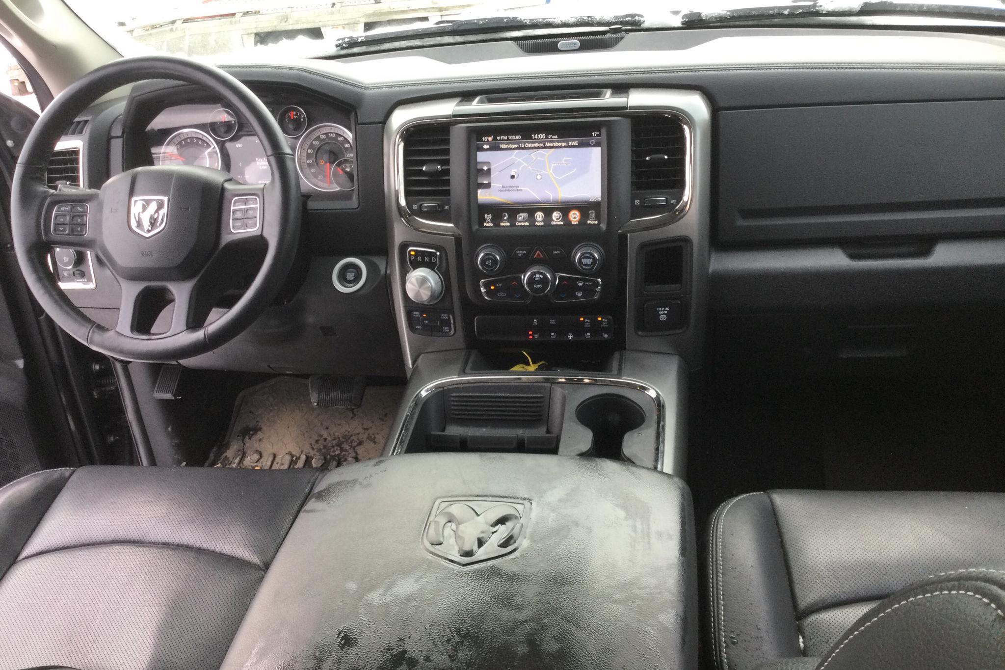 Dodge RAM 1500 5.7 4WD (401hk) - 8 653 mil - Automat - svart - 2017
