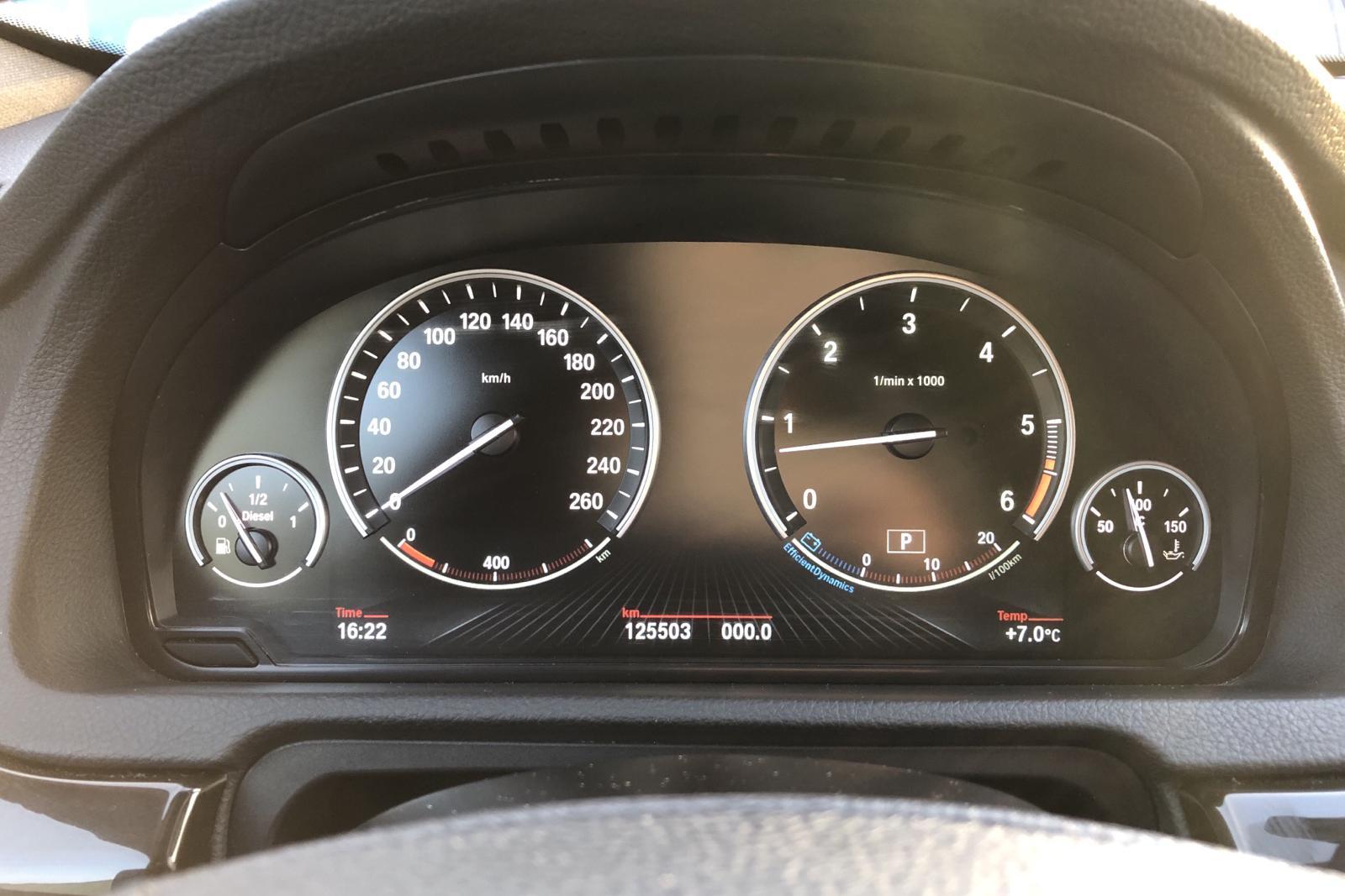BMW 530d GT xDrive, F07 (258hk) - 125 500 km - Automatic - black - 2014