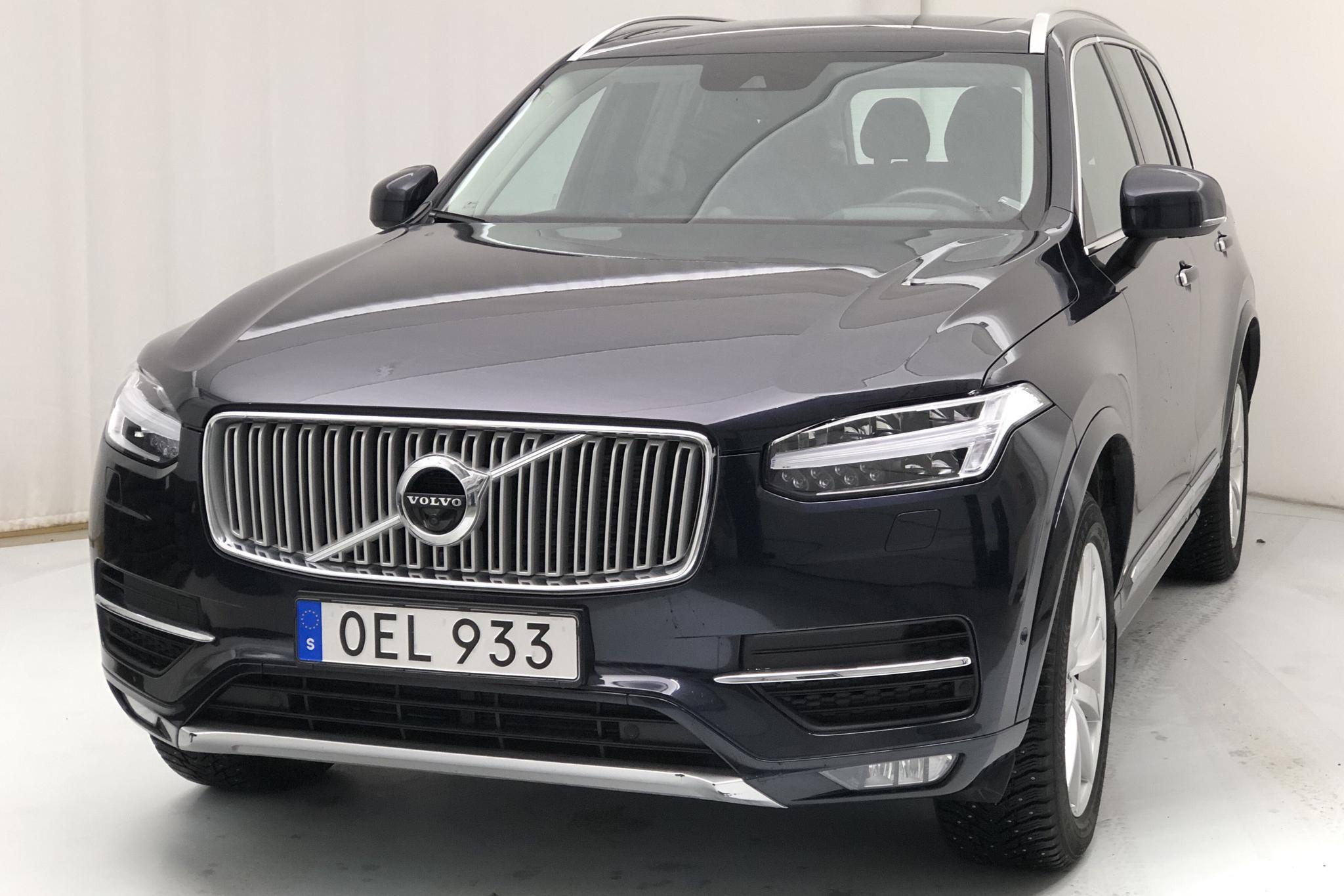 Volvo XC90 D5 AWD (235hk) - 6 035 mil - Automat - Dark Blue - 2017