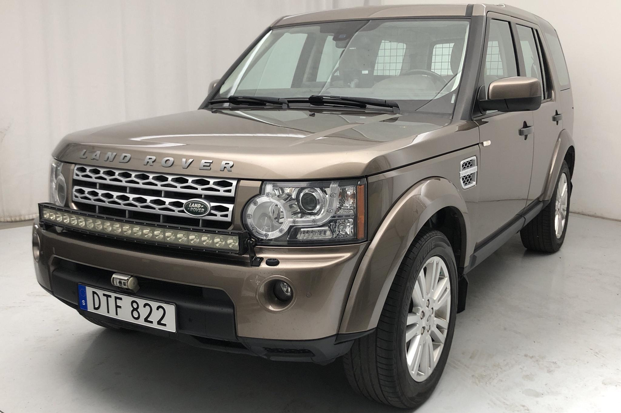 Land Rover Discovery 4 3.0 TDV6 (256hk)