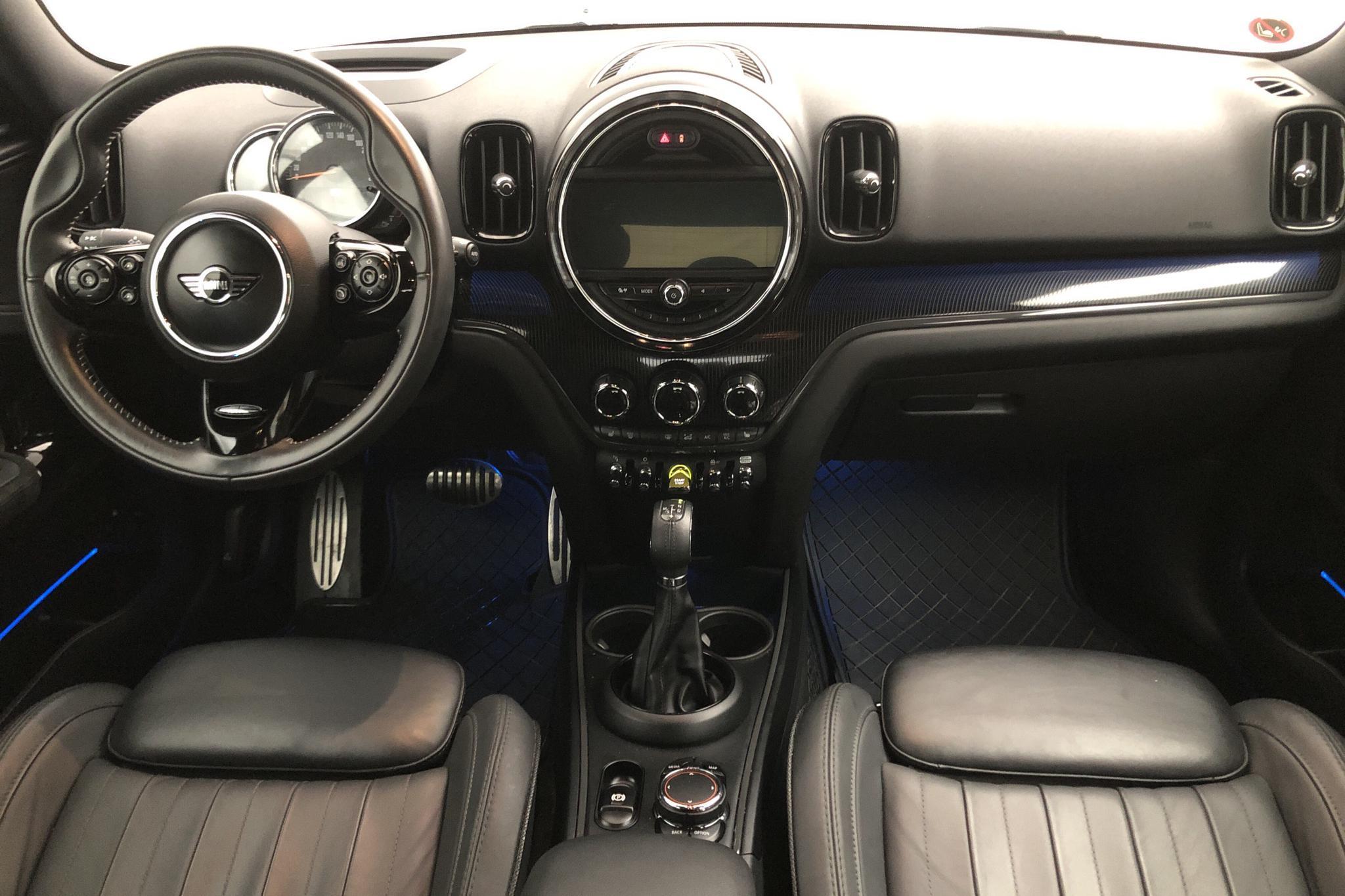 MINI Cooper S E ALL4 Countryman, F60 (224hk) - 3 221 mil - Automat - grå - 2018