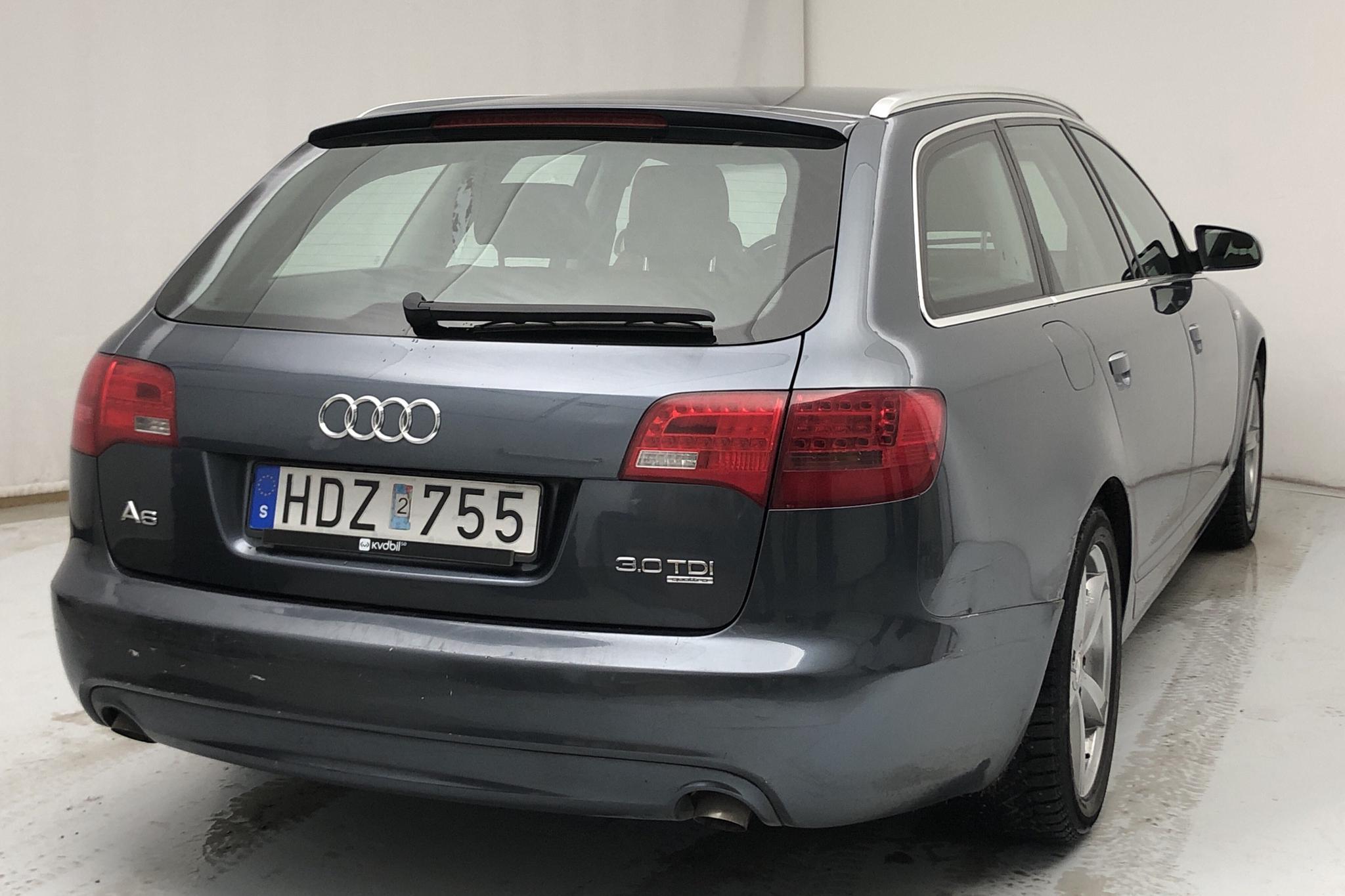 Audi A6 3.0 TDI Avant quattro (233hk) - 17 751 mil - Automat - blå - 2008