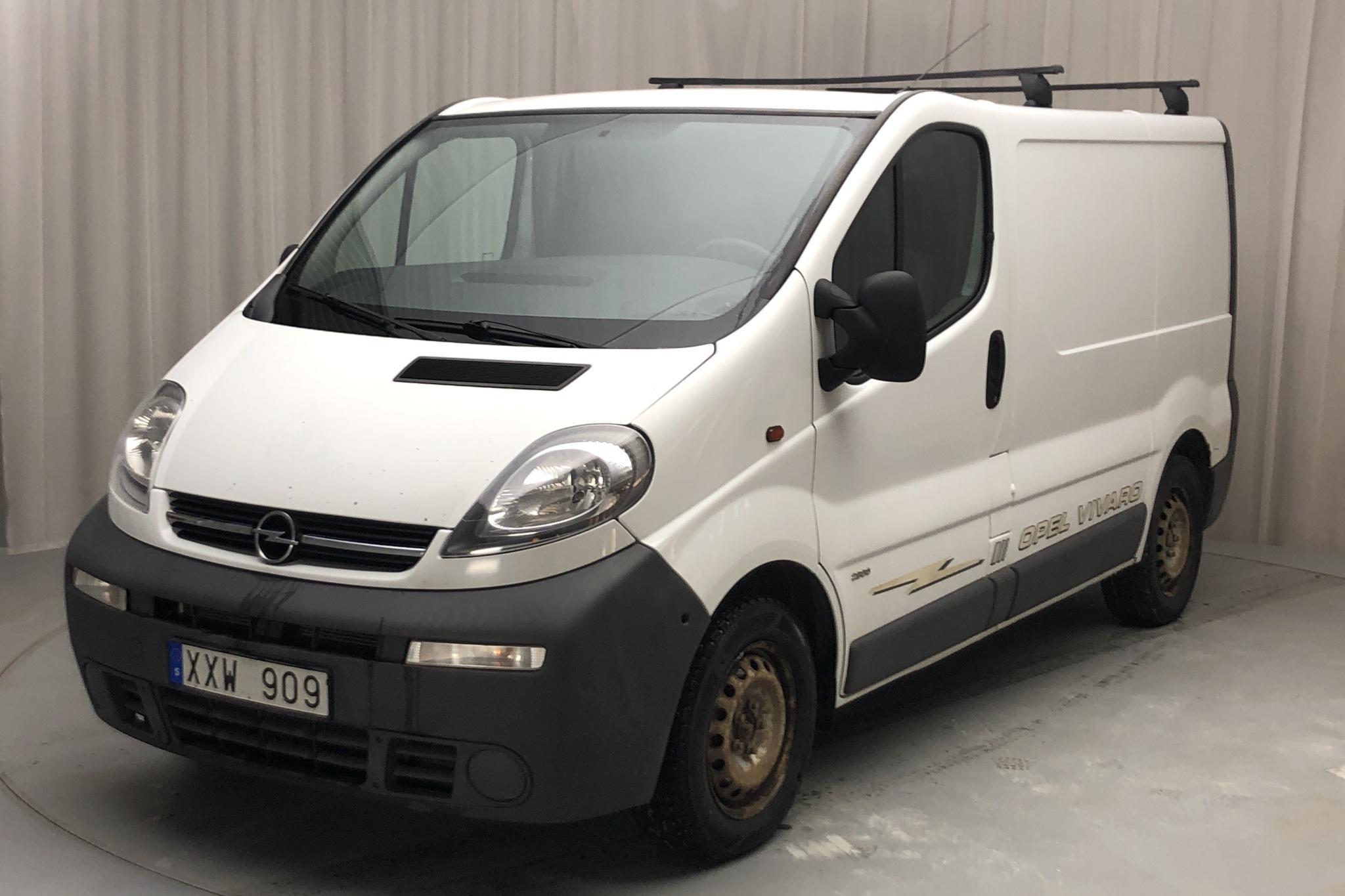 Opel Vivaro 2.5 CDTI (135hk) - 258 030 km - Manual - white - 2006