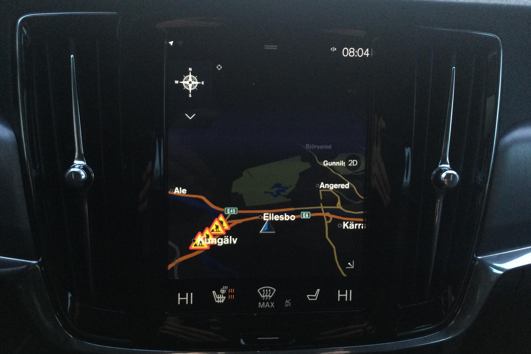 Volvo V90 D4 (190hk) - 62 640 km - Automatic - black - 2018