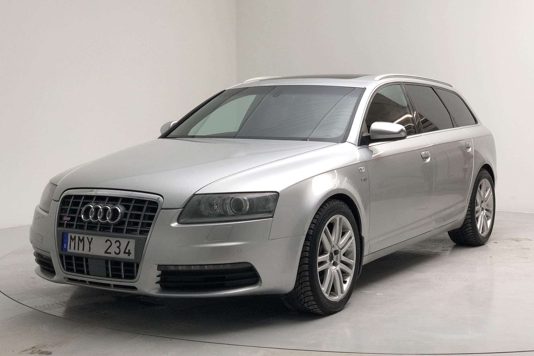 Audi S6 5.2 Avant quattro (435hk) - 16 801 mil - Automat - silver - 2007