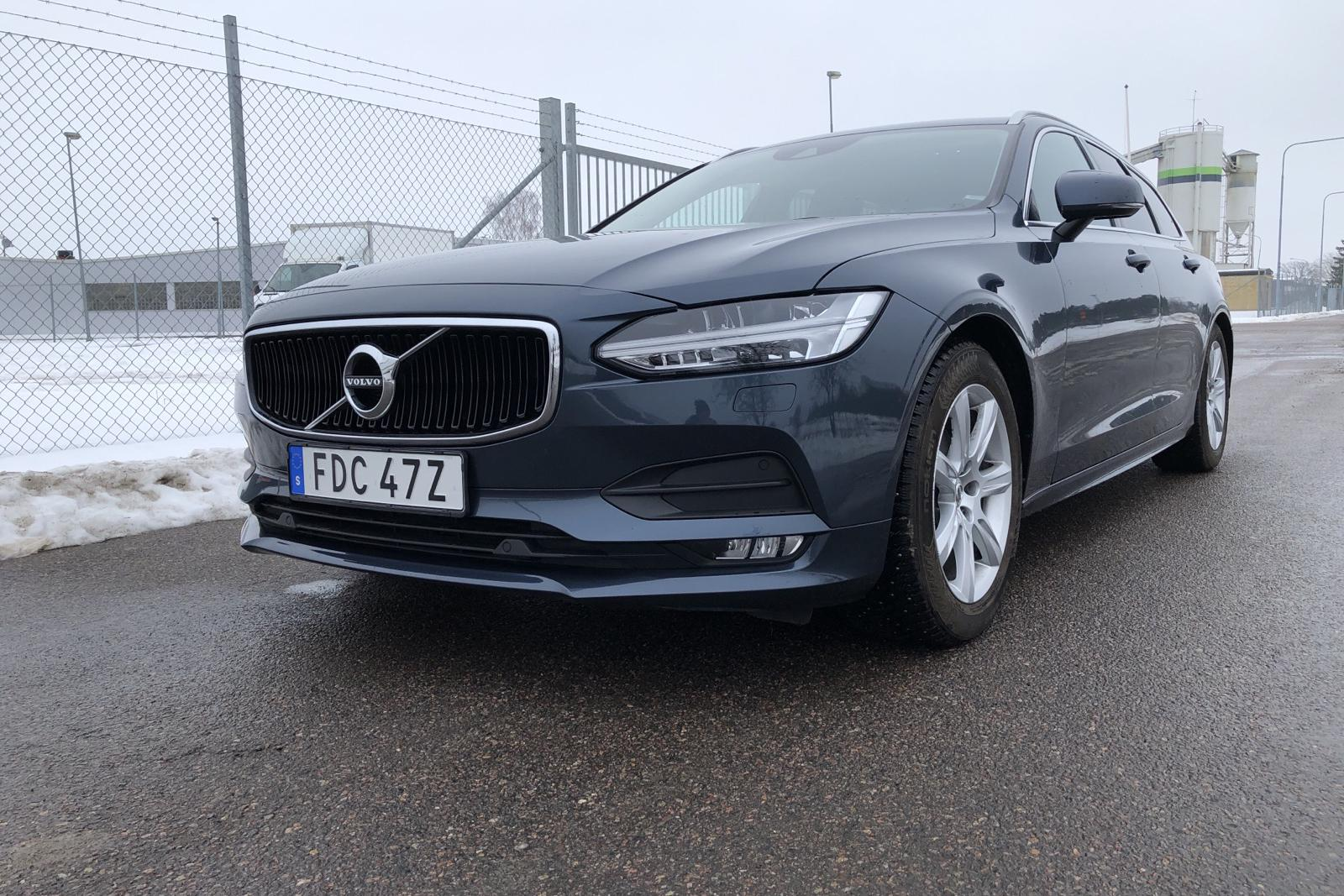 Volvo V90 D4 (190hk) - 40 980 km - Automatic - Dark Blue - 2020