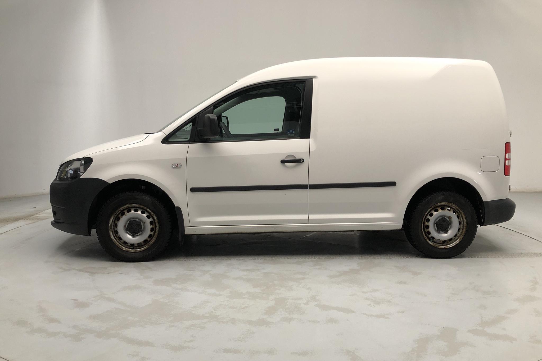 VW Caddy 1.6 TDI Skåp (75hk) - 62 980 km - Manual - white - 2013