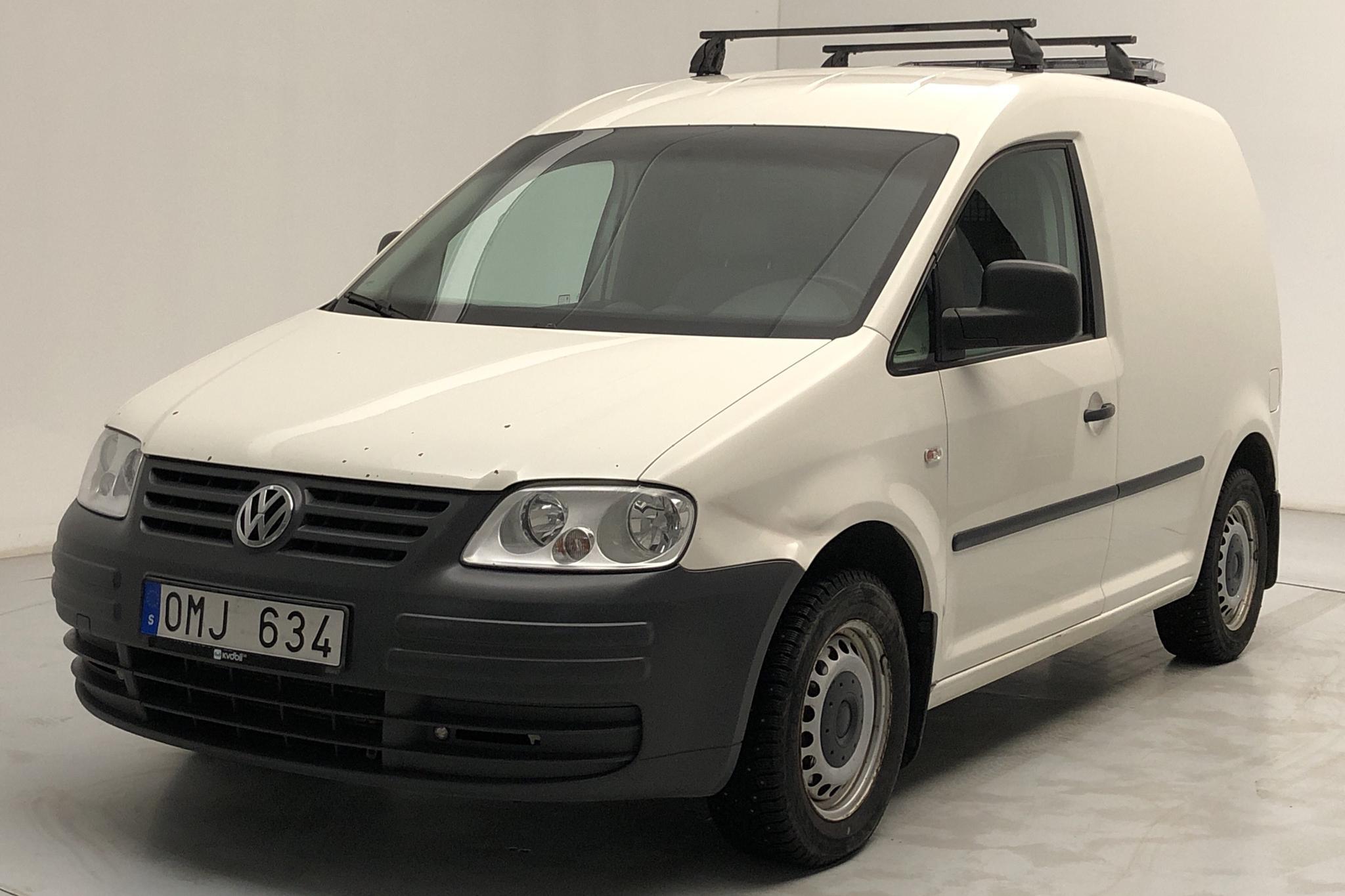 VW Caddy 1.9 TDI Skåp (105hk) - 182 070 km - Manual - white - 2008