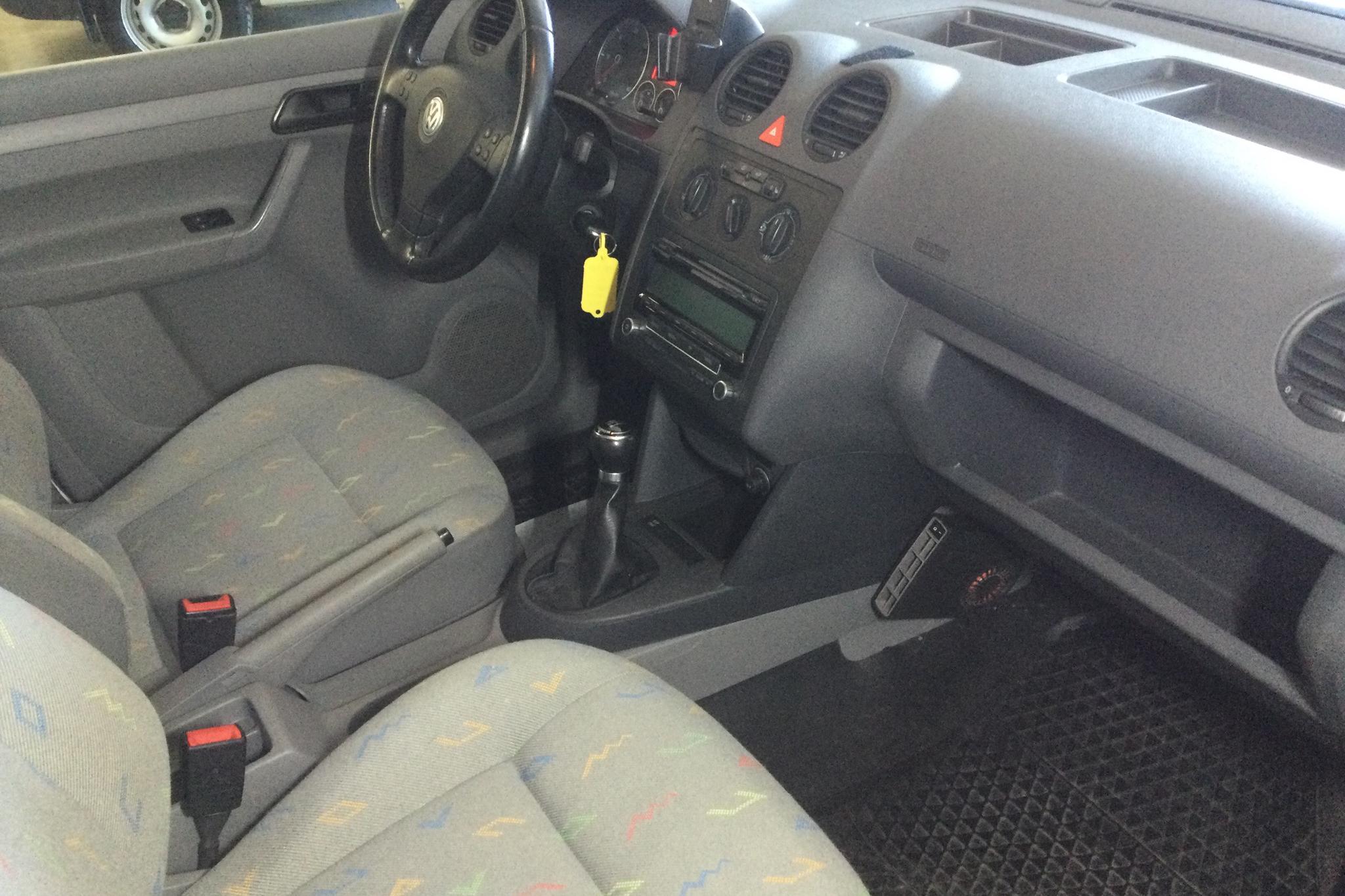 VW Caddy 1.9 TDI Skåp 4motion (105hk) - 58 080 km - Manual - white - 2010